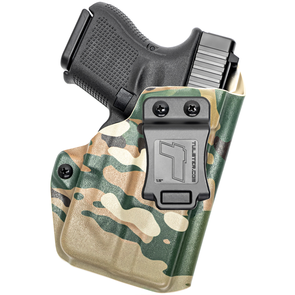 NEW-Tulster-Profile-IWB-AIWB-Holster-Glock-26-27-28-33-w-TLR-6-Right-Hand thumbnail 71