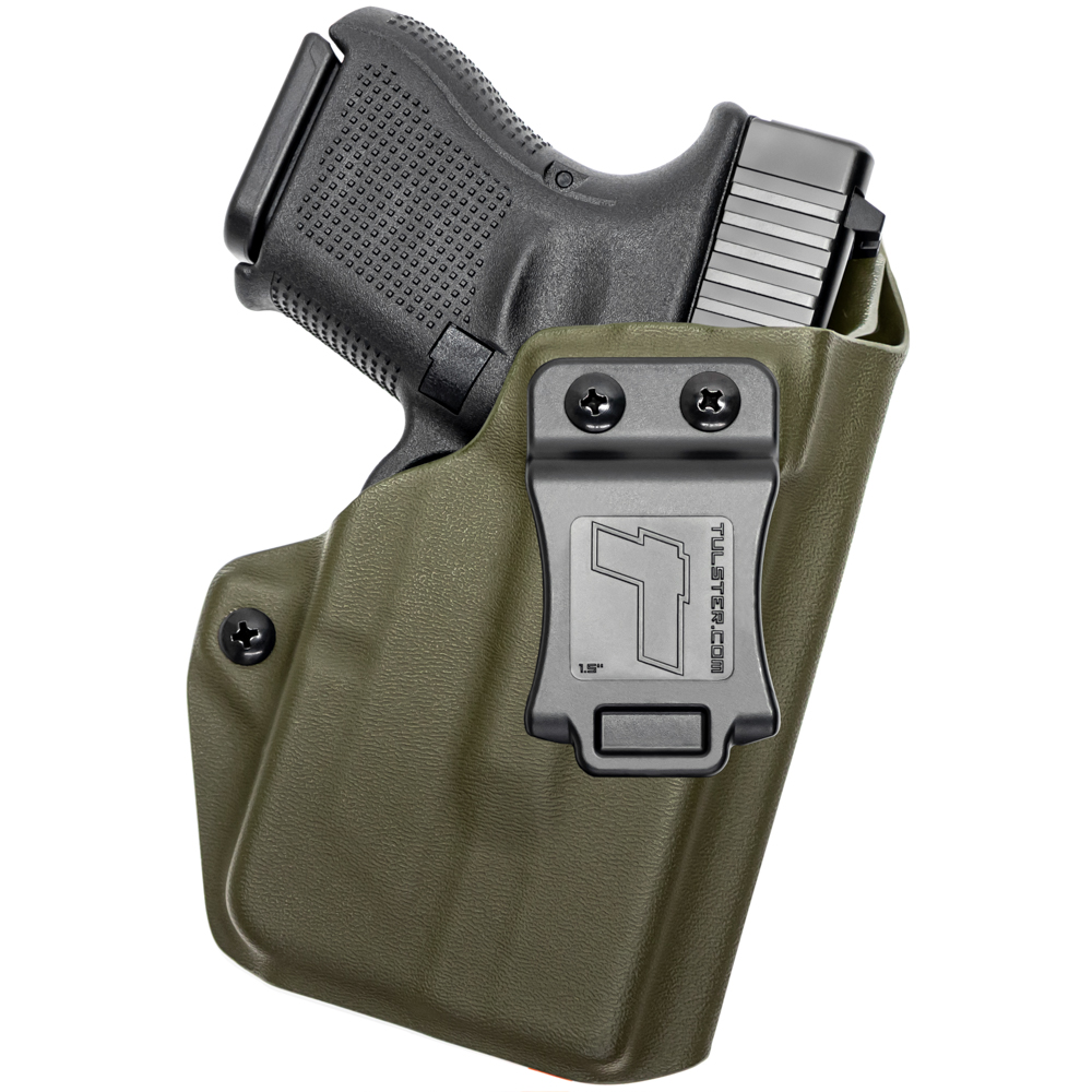 NEW-Tulster-Profile-IWB-AIWB-Holster-Glock-26-27-28-33-w-TLR-6-Right-Hand thumbnail 78