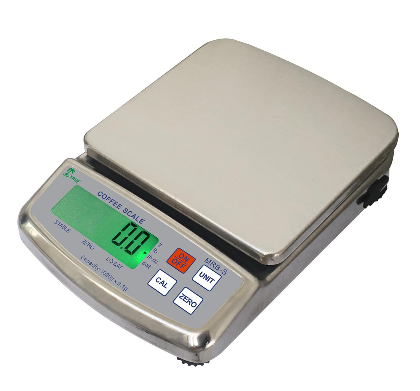 12 x 0.0002 LB DIGITAL SCALE STAINLESS STEEL FOOD KITCHEN NEW 6000 x 0.1 GRAM SS