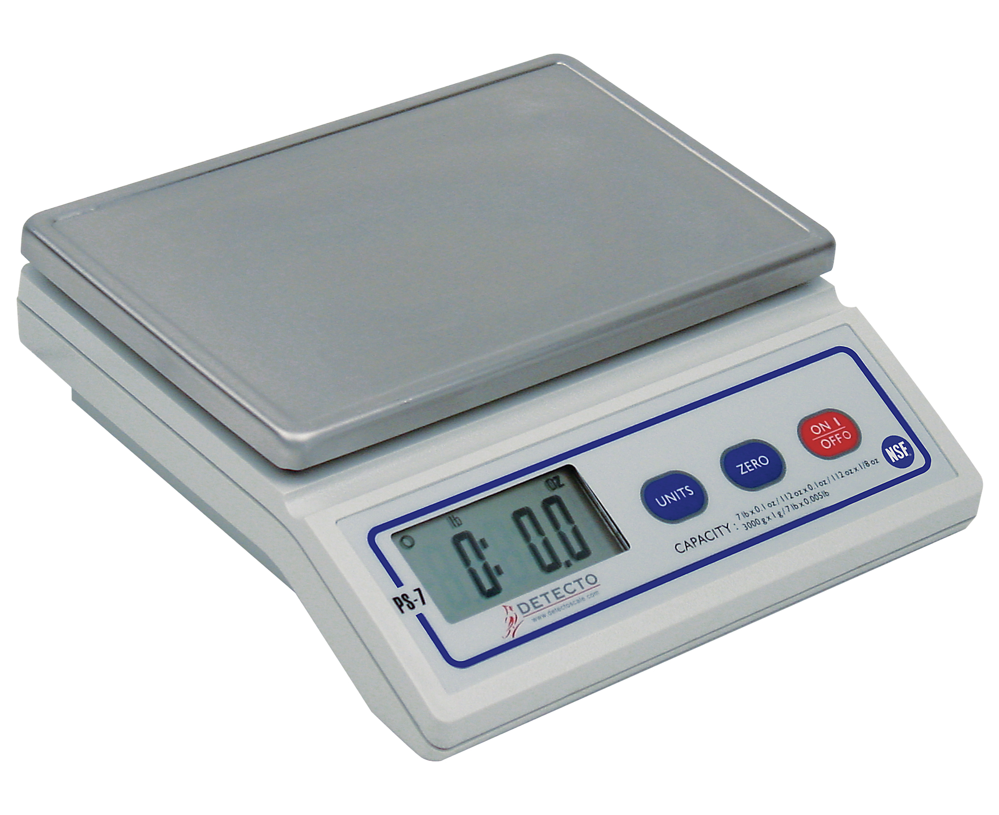 b78c41b696cb Details about Brecknell PS7, Electronic Postal Scale, 7 lb x 0.002 lb