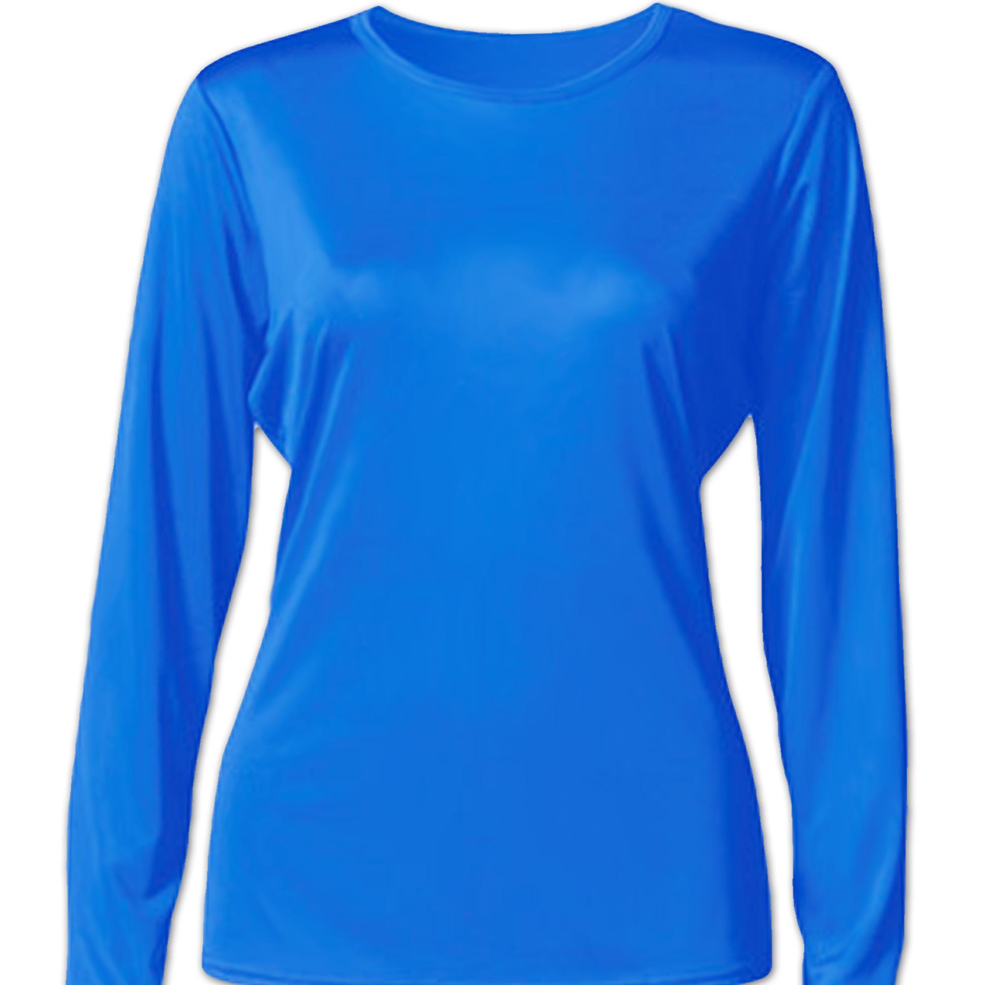 d3cdf505 Bradley Women's Casual Fit Long Sleeve Rash Guard Swim Shirt with UV ...