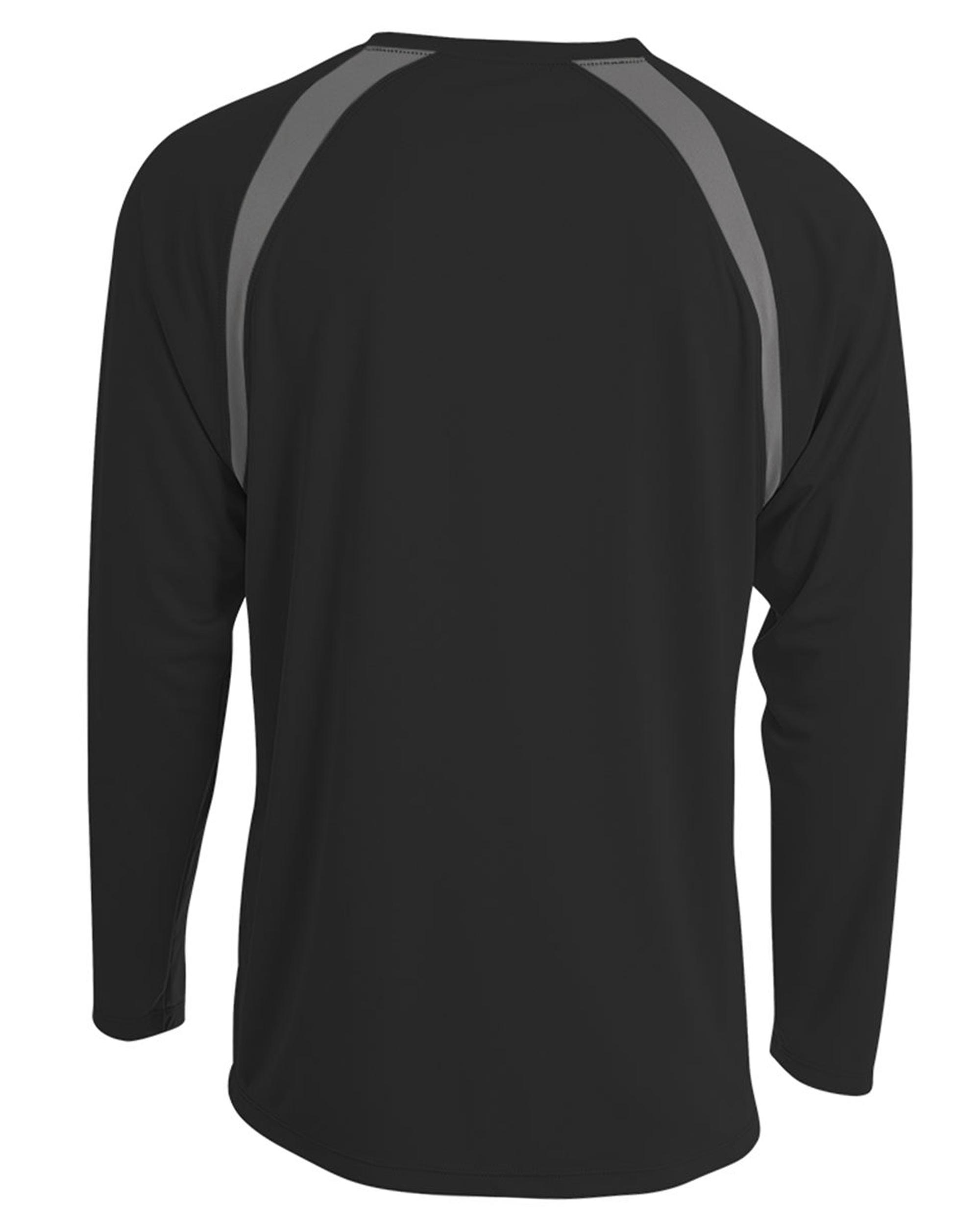 Men-039-s-Long-Sleeve-Loose-Fit-Rash-Guard-Surf-Shirt-Water-Sports-Swimwear thumbnail 6