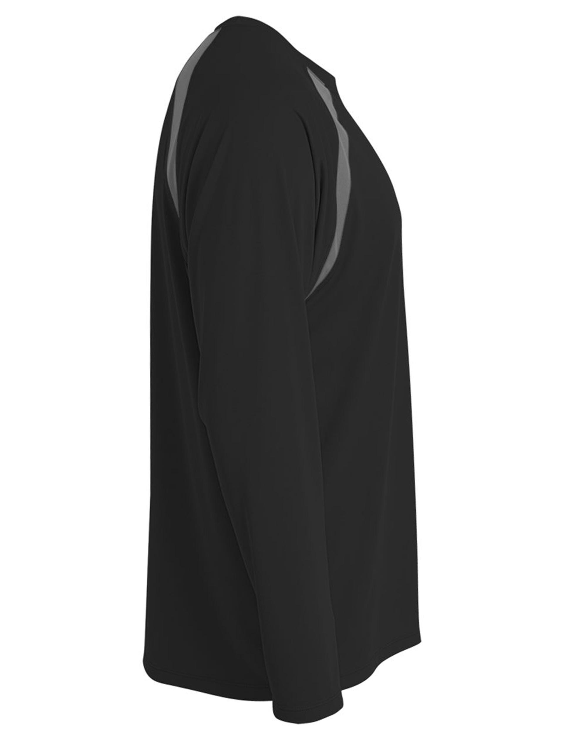 Men-039-s-Long-Sleeve-Loose-Fit-Rash-Guard-Surf-Shirt-Water-Sports-Swimwear thumbnail 7