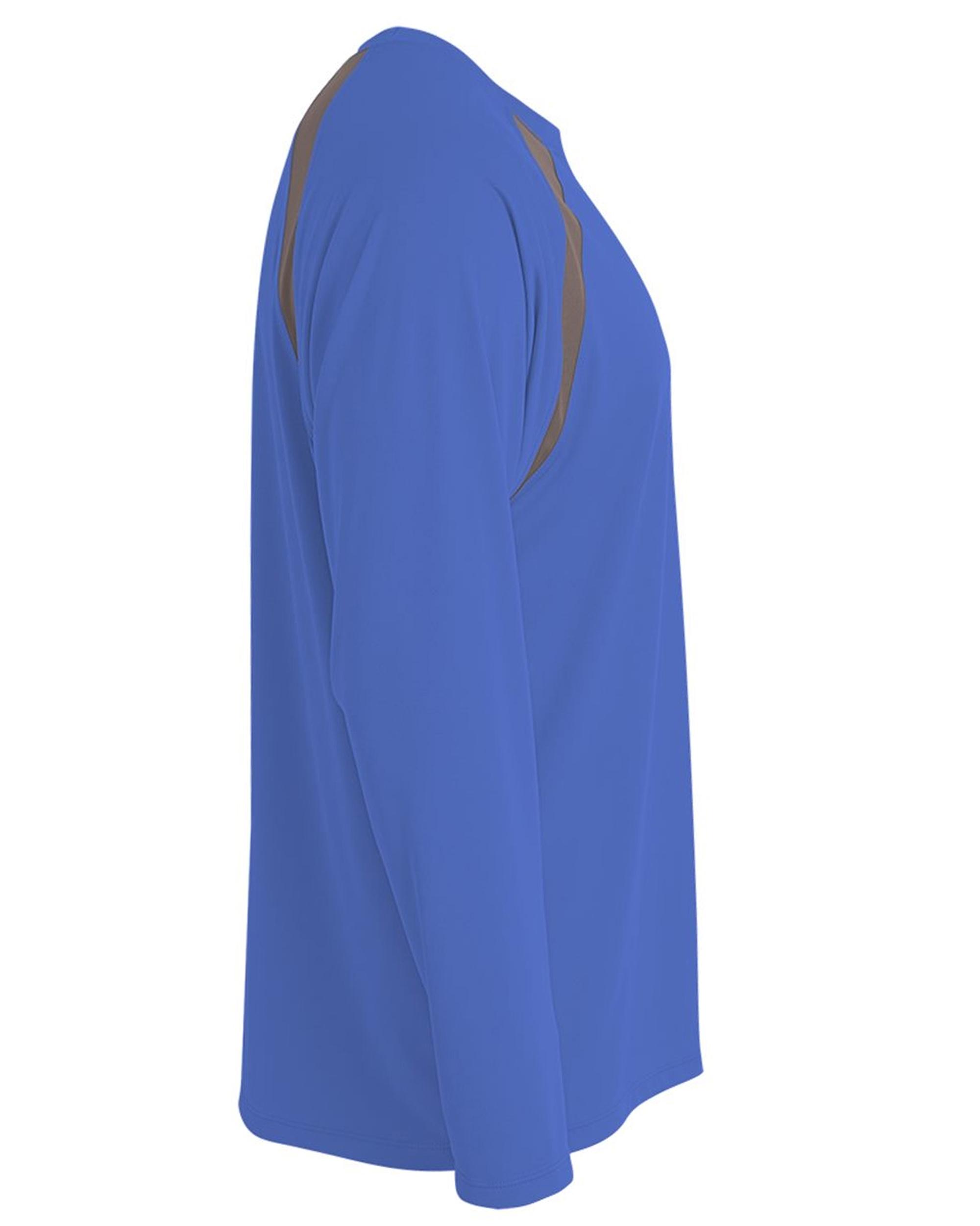 Men-039-s-Long-Sleeve-Loose-Fit-Rash-Guard-Surf-Shirt-Water-Sports-Swimwear thumbnail 19