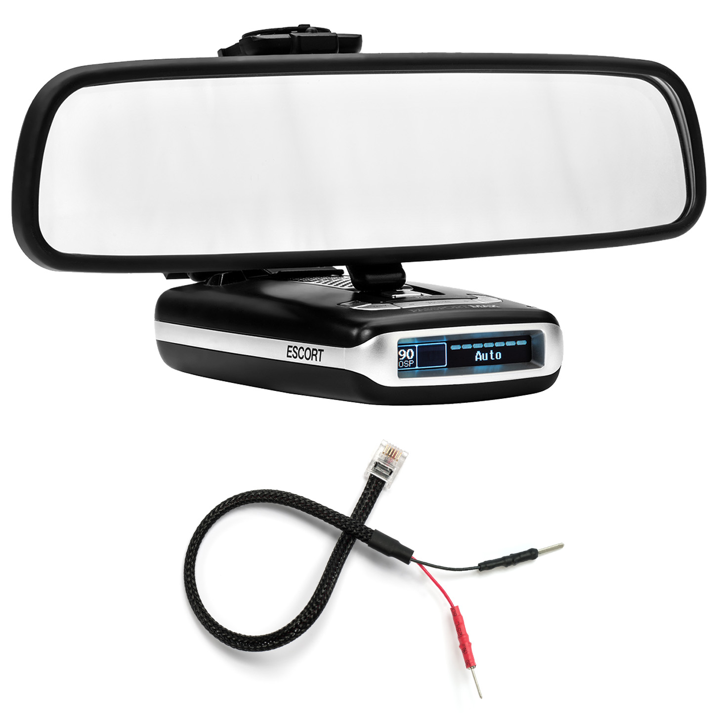 ESCORT,Passport MAX Radar Detector  Direct Mirror Power Cord MP-ESCT