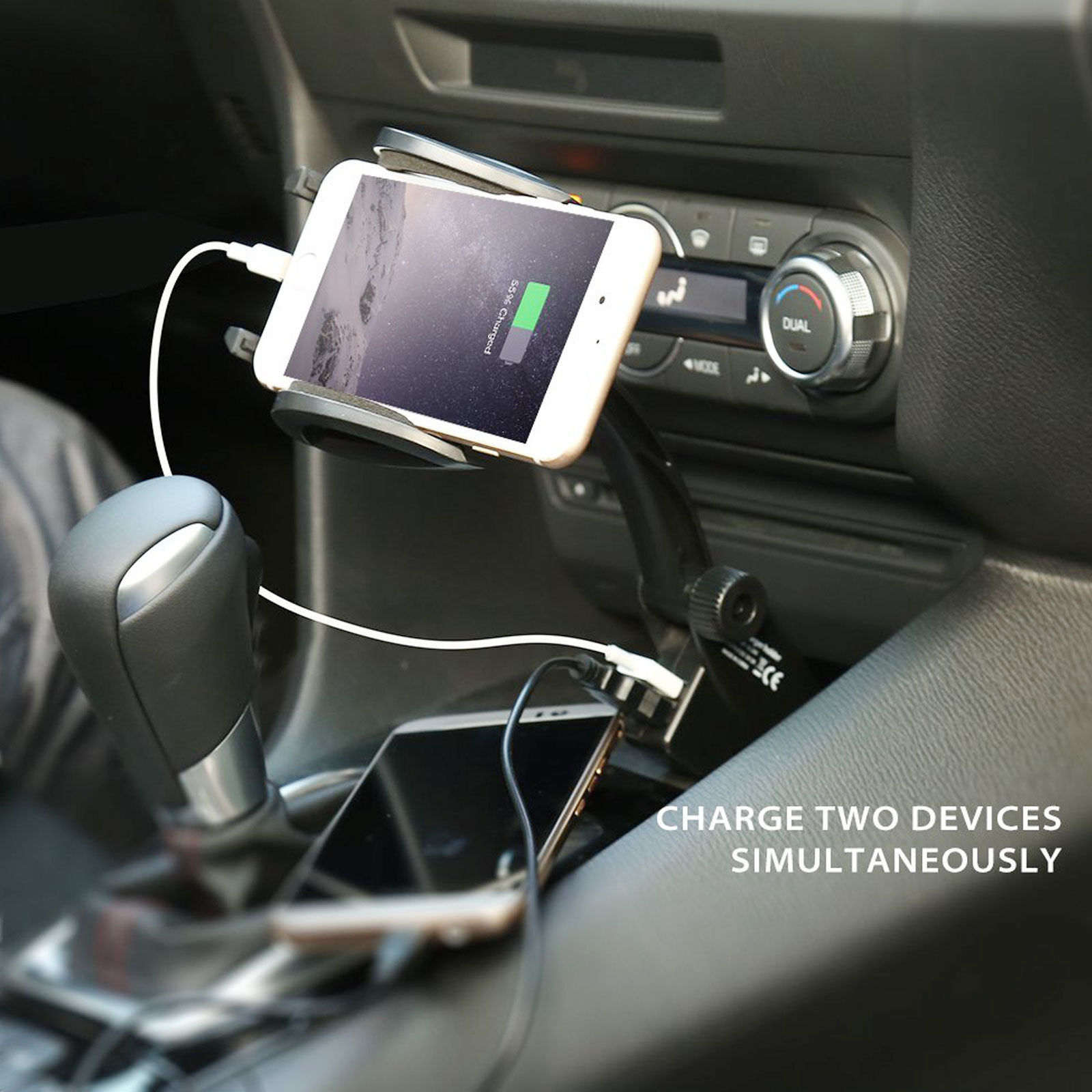 Dual-USB-Car-Charger-Holder-Mount-With-Cigarette-Lighter-Chargers-for-CellPhone