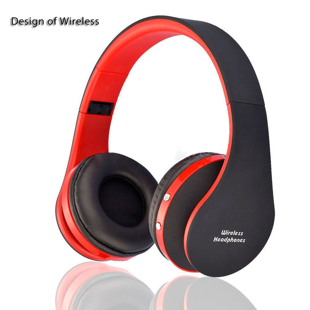 wireless bluetooth headset stereo headphone earphone. Black Bedroom Furniture Sets. Home Design Ideas