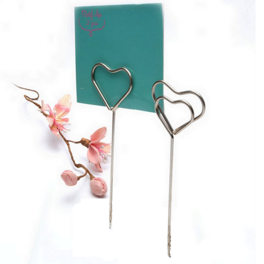 Craft Wire Card Clips Place Card Holders Note Photo Christmas Decor ...