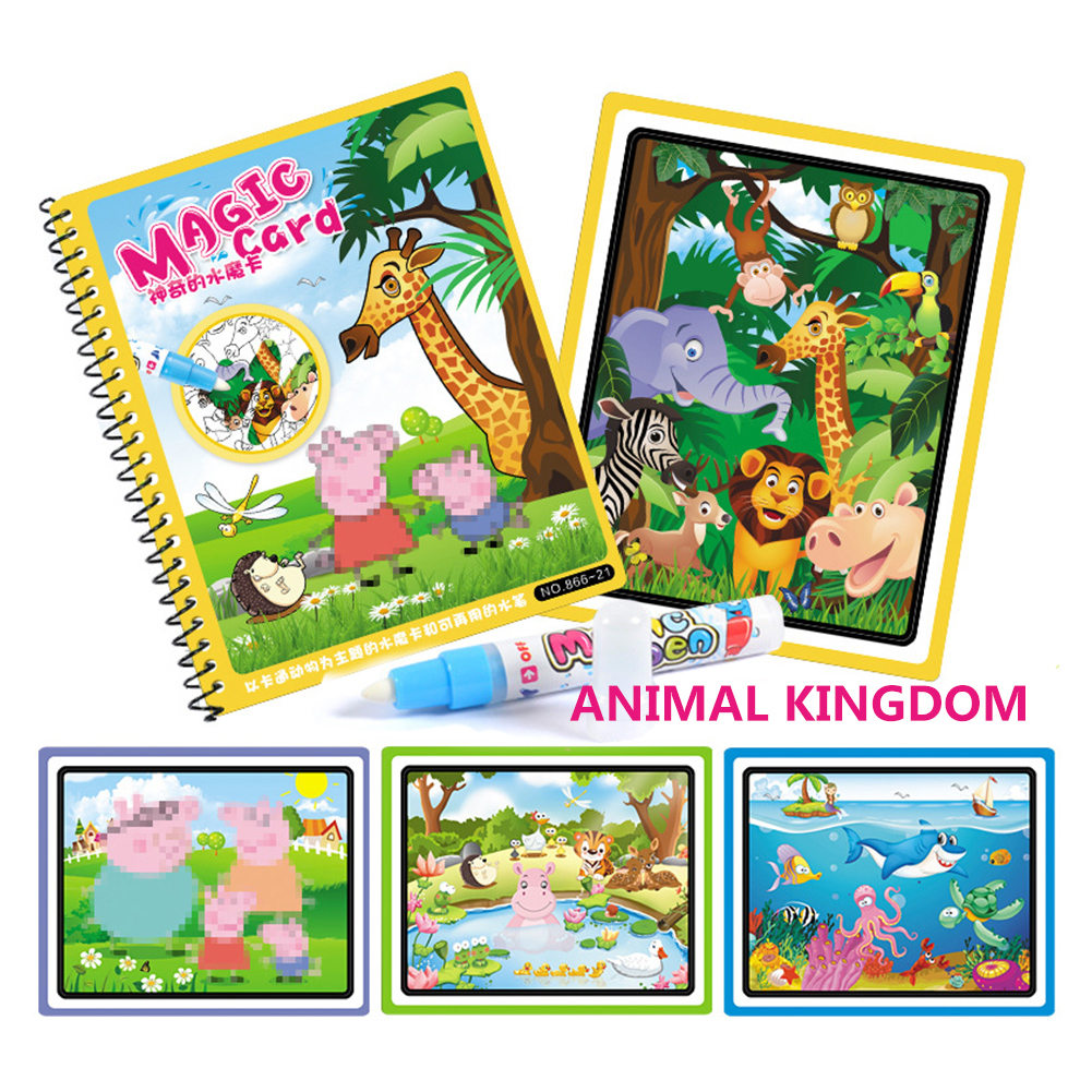 Kids Coloring Book Magic Baby Drawing Washable Album