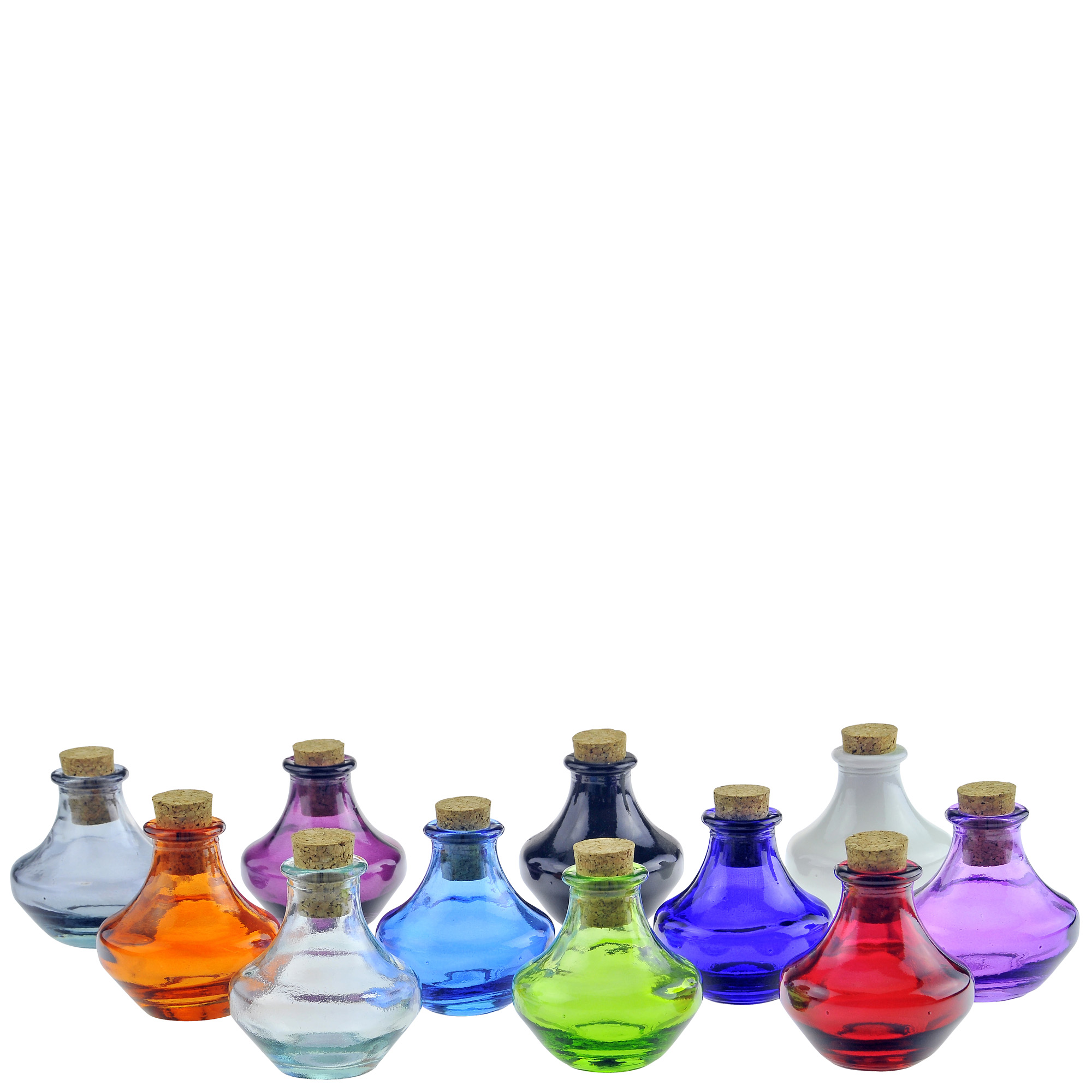 c585330c6c76 Details about Couronne Co Genie Glass Bottle, G5766, 3.7 Ounce Capacity