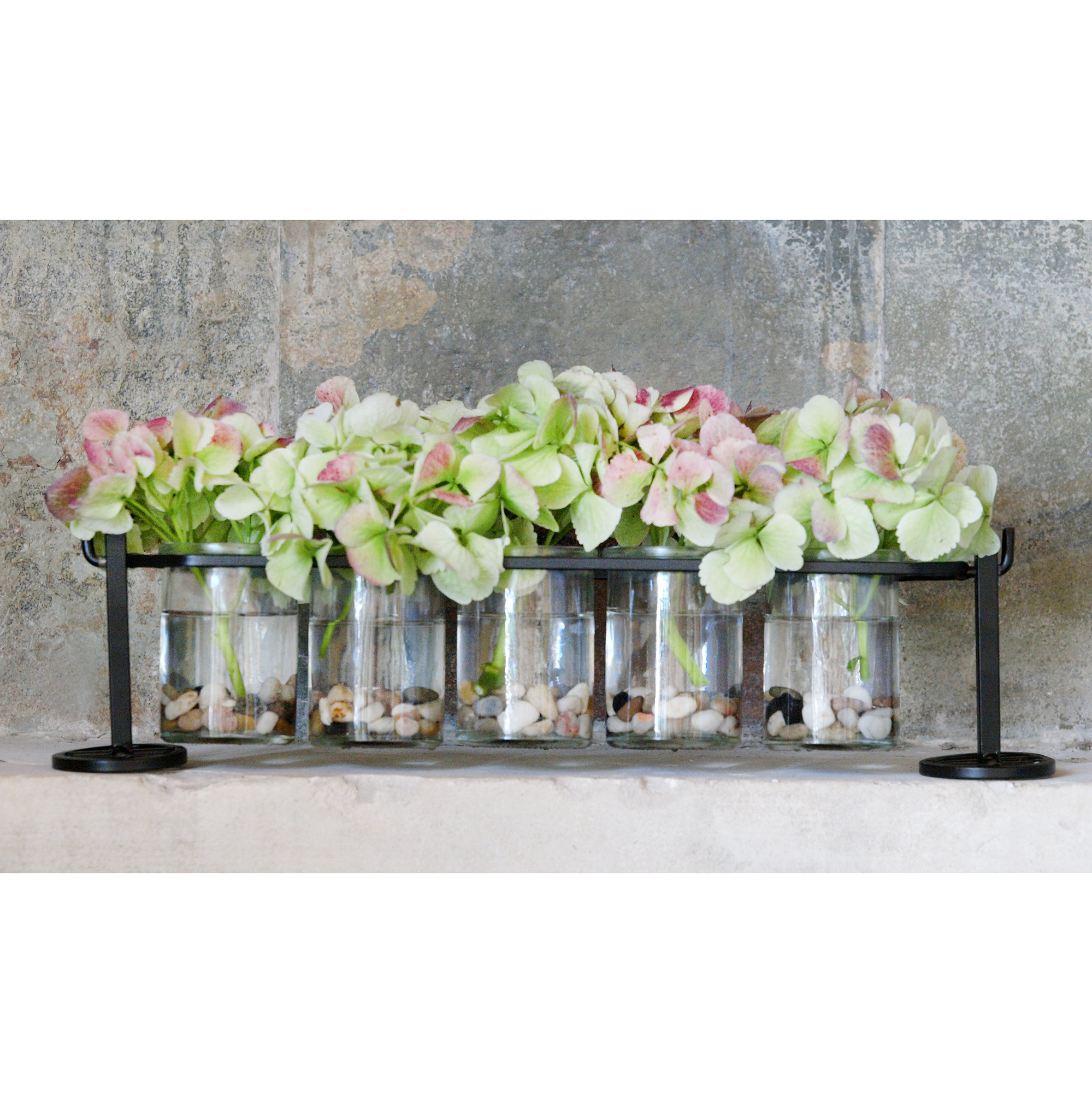1c2c16c11bae Details about Couronne Co Five Round Glass Containers and Metal Stand,  M480-200-00-P, 18 inche