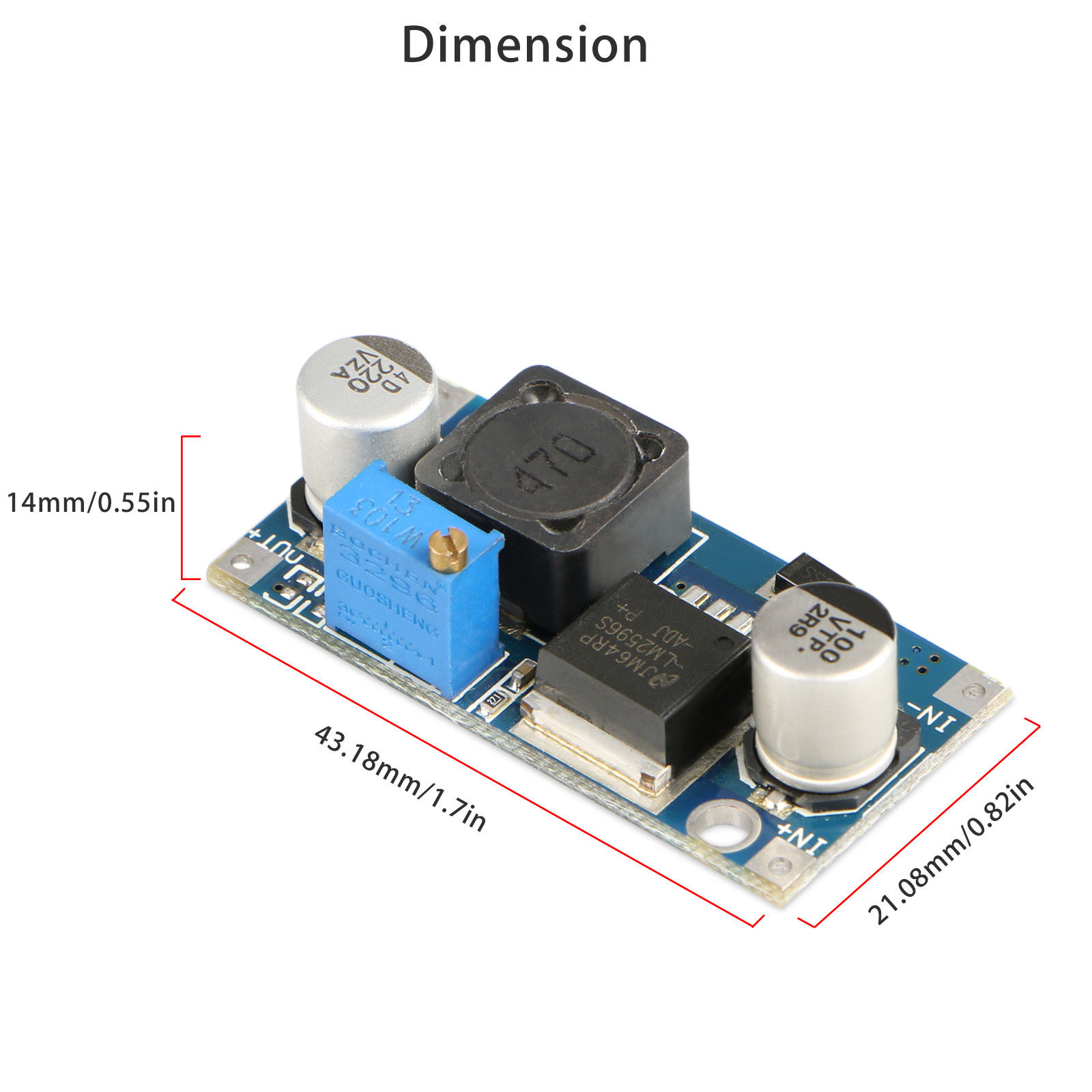 Mini-DC-DC-Converter-Step-Down-Module-Adjustable-Power-Supply-Output-1-25-35V thumbnail 20