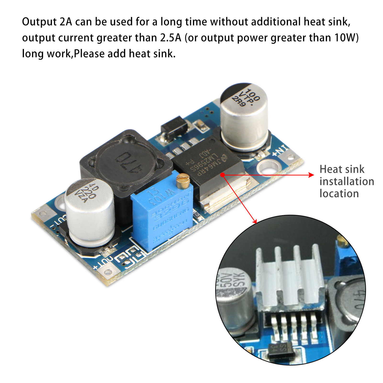 Mini-DC-DC-Converter-Step-Down-Module-Adjustable-Power-Supply-Output-1-25-35V thumbnail 15