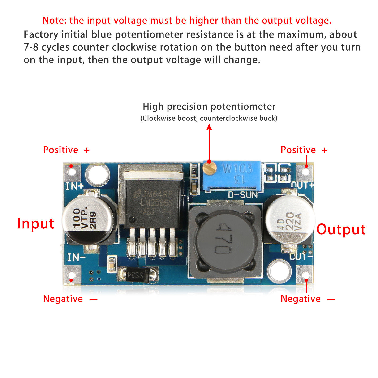 Mini-DC-DC-Converter-Step-Down-Module-Adjustable-Power-Supply-Output-1-25-35V thumbnail 16