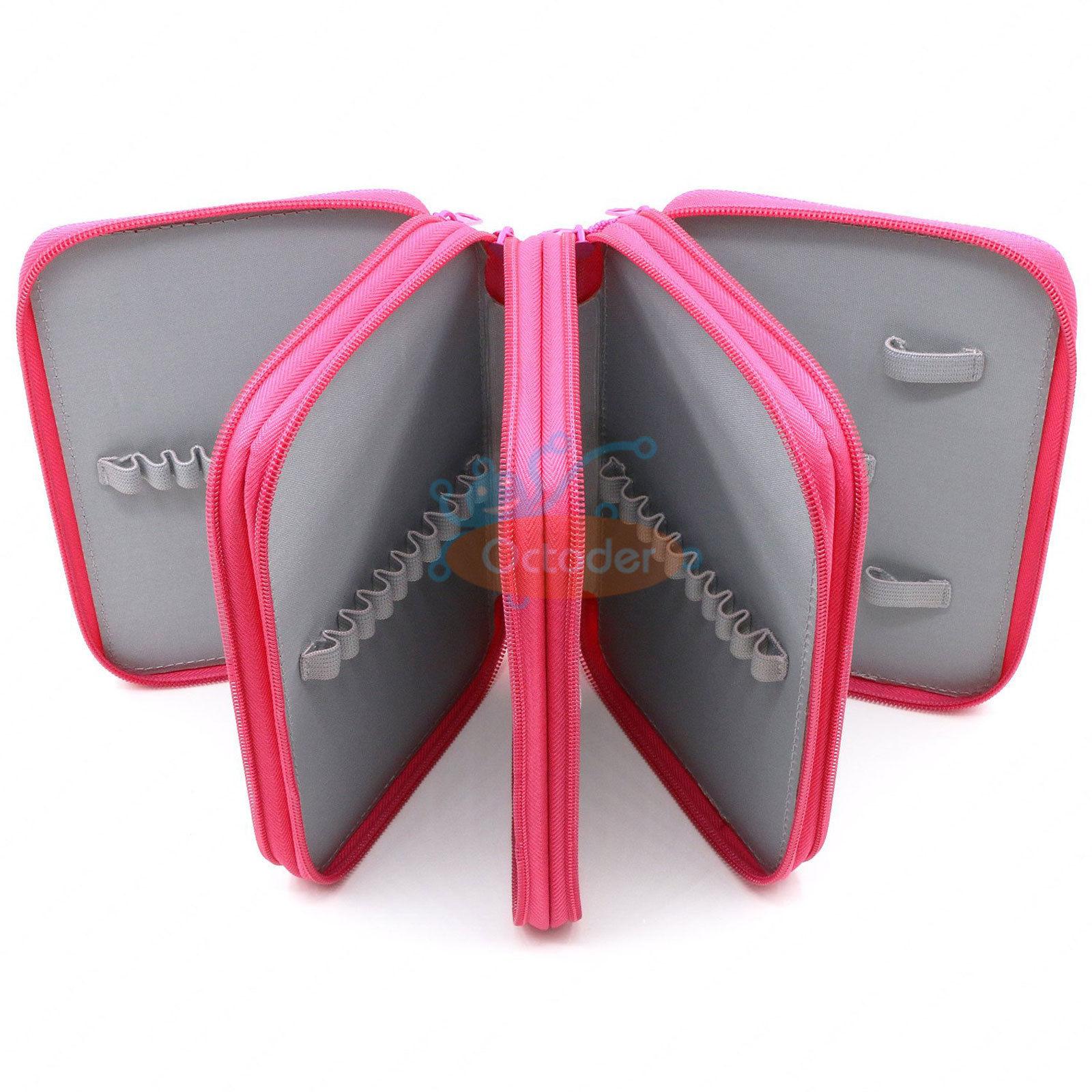 4-Layers-High-Capacity-Pencil-Brush-Case-Box-Pen-Pouch-Bag-Makeup-Storage-Bag thumbnail 19