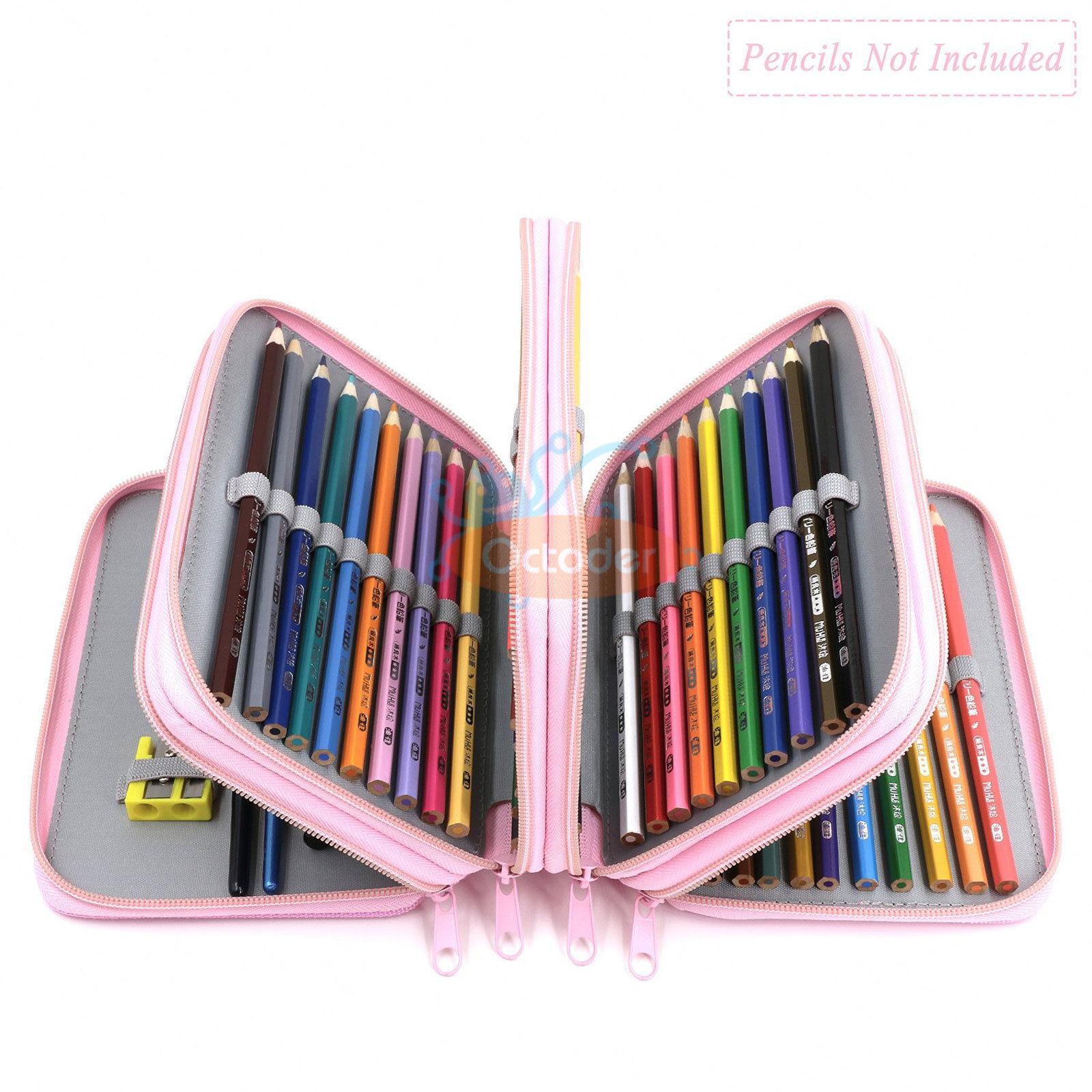 4-Layers-High-Capacity-Pencil-Brush-Case-Box-Pen-Pouch-Bag-Makeup-Storage-Bag thumbnail 22