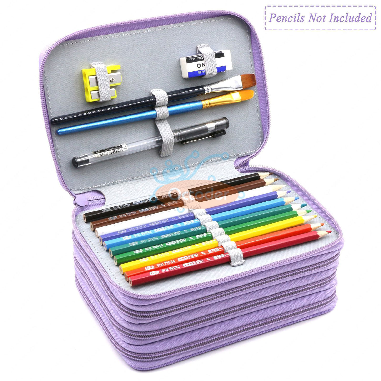 4-Layers-High-Capacity-Pencil-Brush-Case-Box-Pen-Pouch-Bag-Makeup-Storage-Bag thumbnail 25