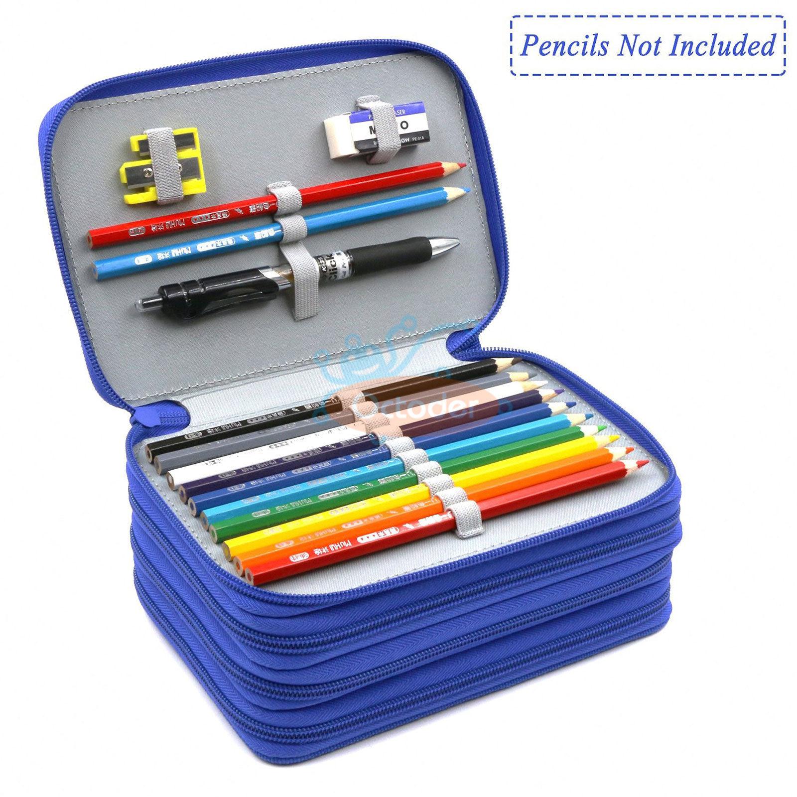 4-Layers-High-Capacity-Pencil-Brush-Case-Box-Pen-Pouch-Bag-Makeup-Storage-Bag thumbnail 13