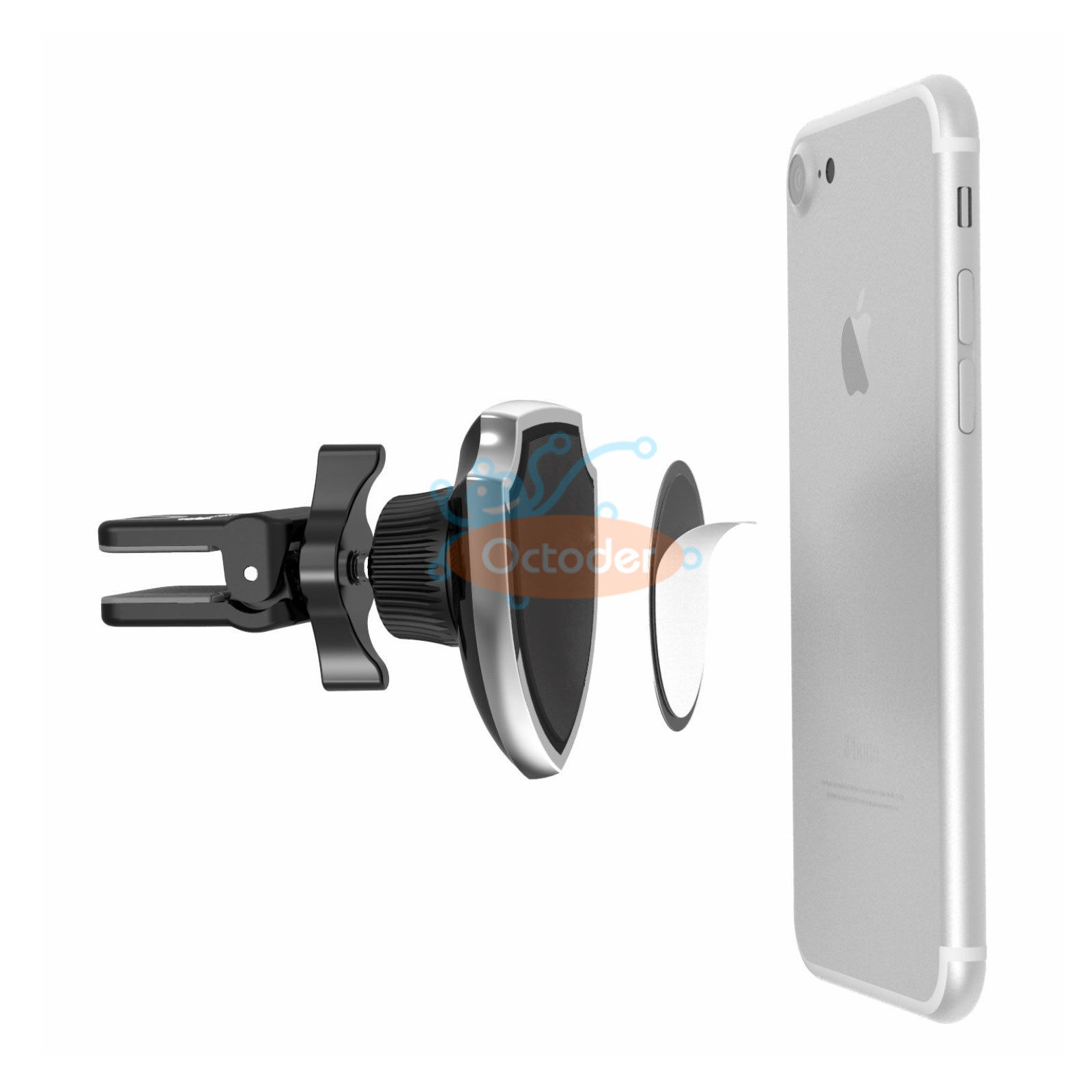 360 Rotation Magnetic Car Air Vent Holder Mount Cradle