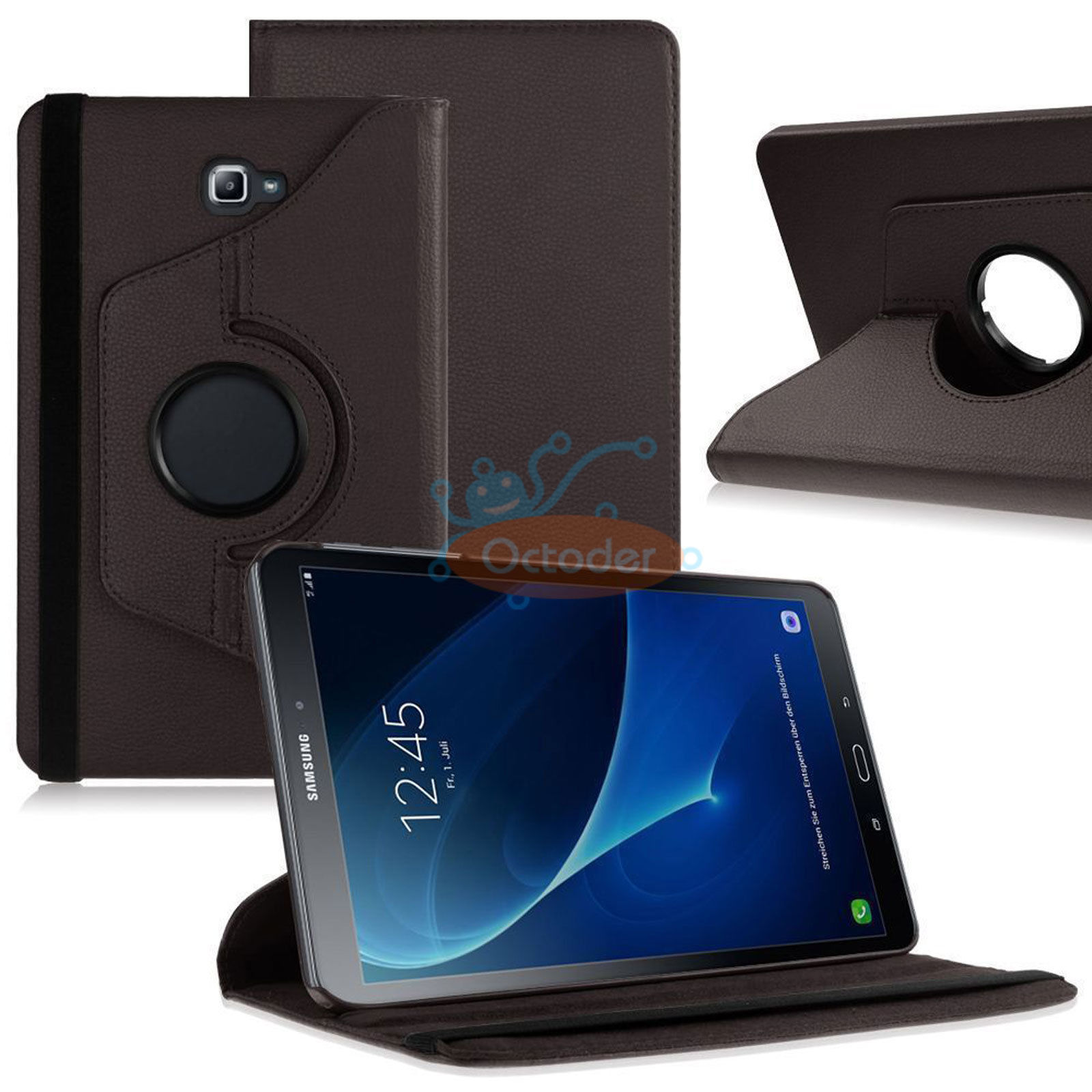 rotating case cover for samsung galaxy tab a 10 1 sm t580. Black Bedroom Furniture Sets. Home Design Ideas