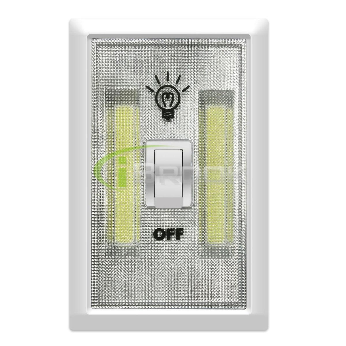1/2/5 Pack COB LED Wall Switch Wireless Closet Cordless Night Lights ...