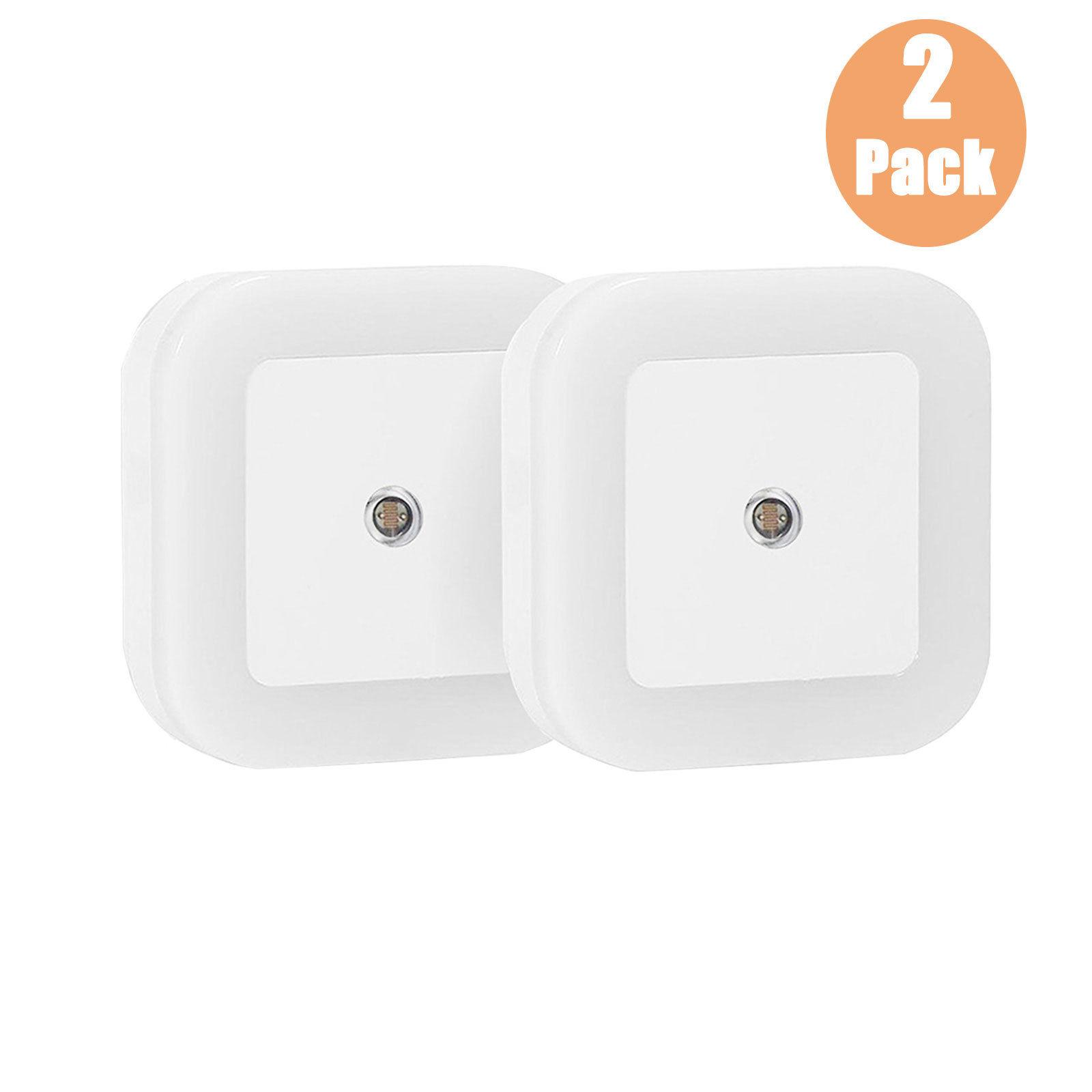 0-5W-Plug-in-Auto-Sensor-Control-LED-Night-Light-Lamp-for-Bedroom-Hallway-Bath thumbnail 12
