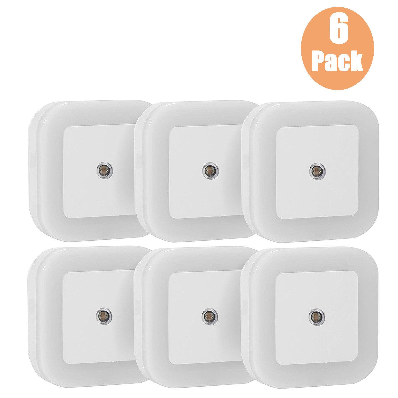 0-5W-Plug-in-Auto-Sensor-Control-LED-Night-Light-Lamp-for-Bedroom-Hallway-Bath thumbnail 14