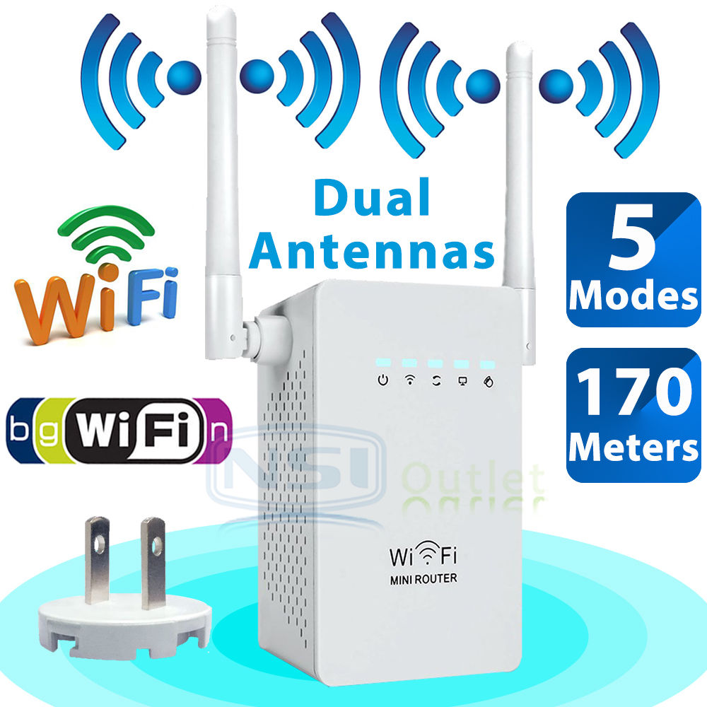 300Mbps-Wireless-N-WiFi-Repeater-Range-Extender-Signal-Booster-Network-Router