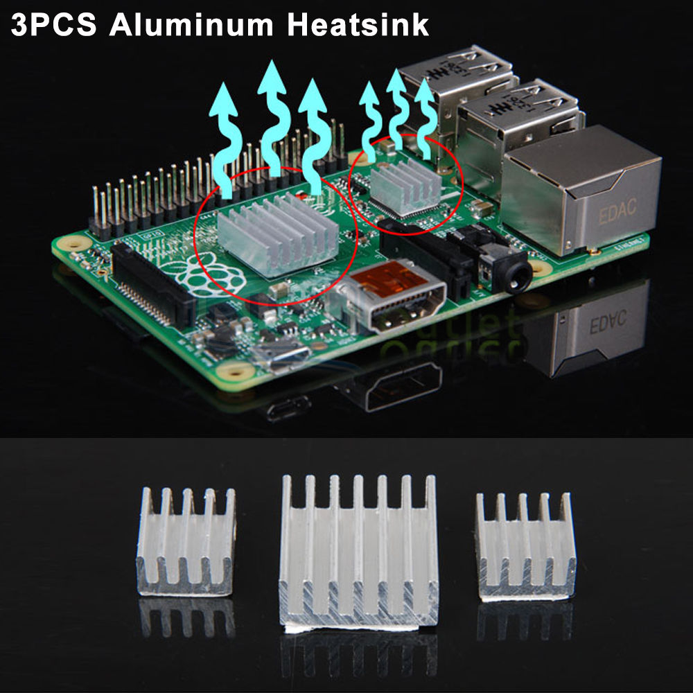 Clear-Case-Enclosure-Box-Cooling-Fan-Heatsink-For-Raspberry-Pi-B-2-3-Model-B thumbnail 24