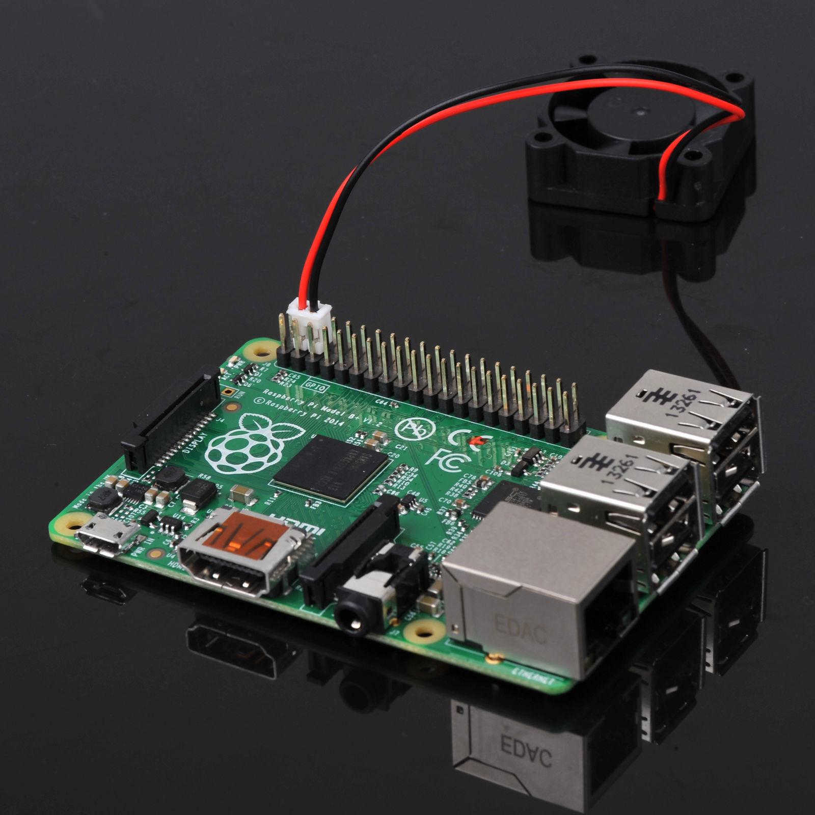Clear Case Enclosure Box Cooling Fan Heatsink For Raspberry Pi B Wiring Diagram
