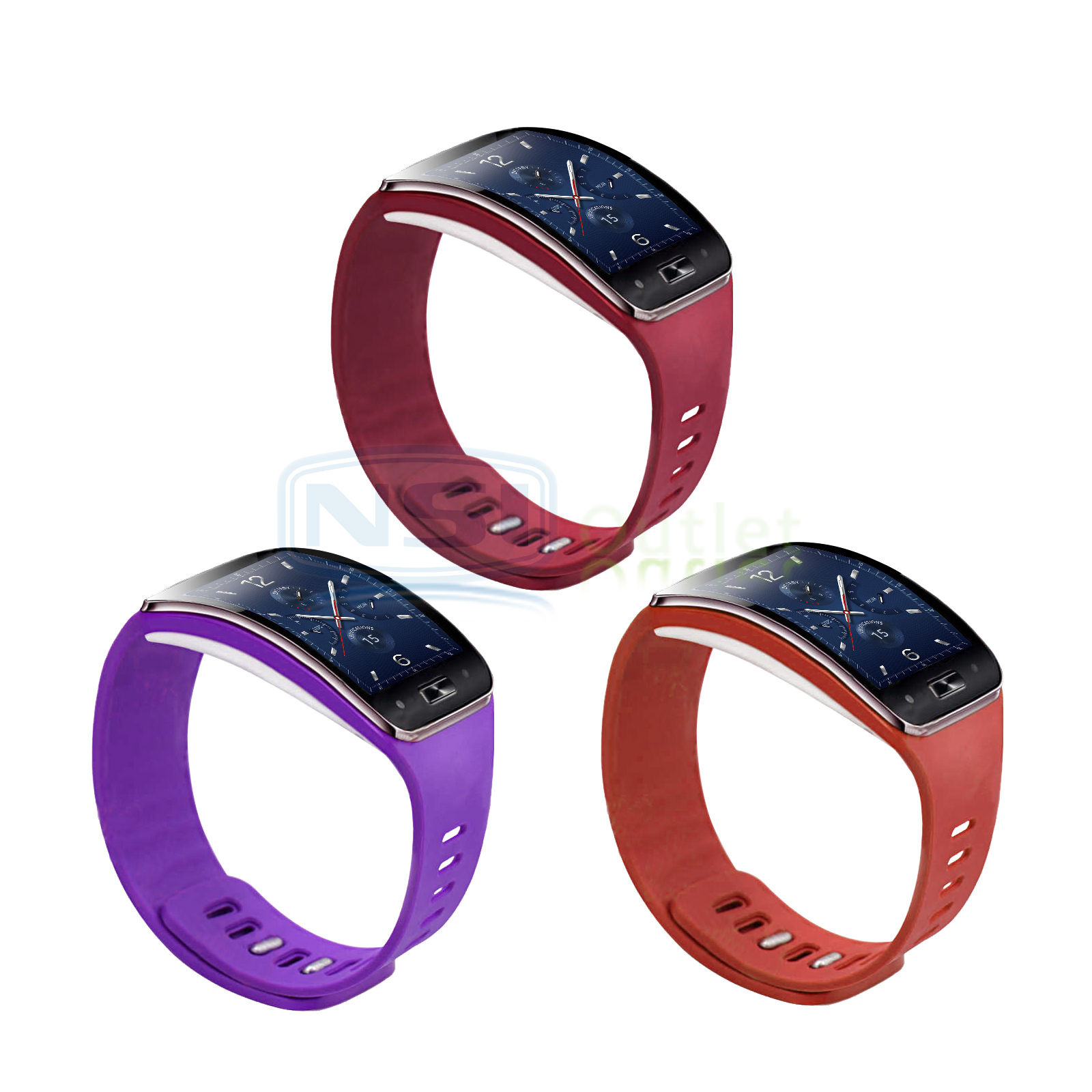 Replacement-Wrist-Band-Strap-Bracelet-w-Clasp-For-Samsung-Galaxy-Gear-S-SM-R750