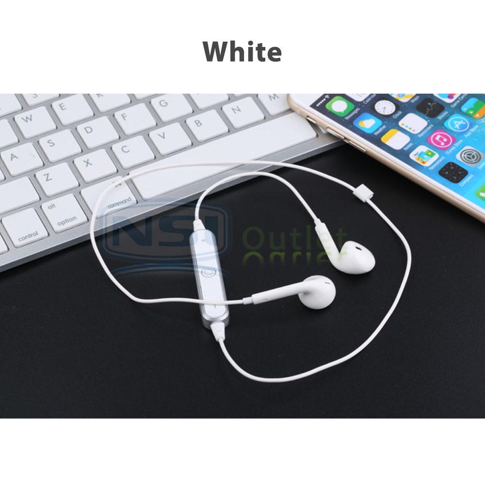 samsung iphone sports wireless stereo bluetooth headset earphone headphone