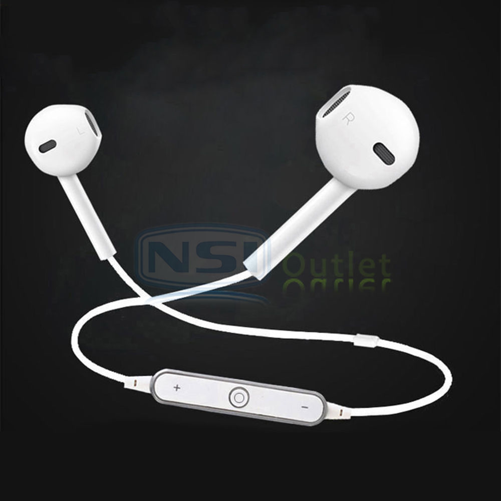 wireless bluetooth headset stereo sport headphones earphones for iphone samsung ebay. Black Bedroom Furniture Sets. Home Design Ideas