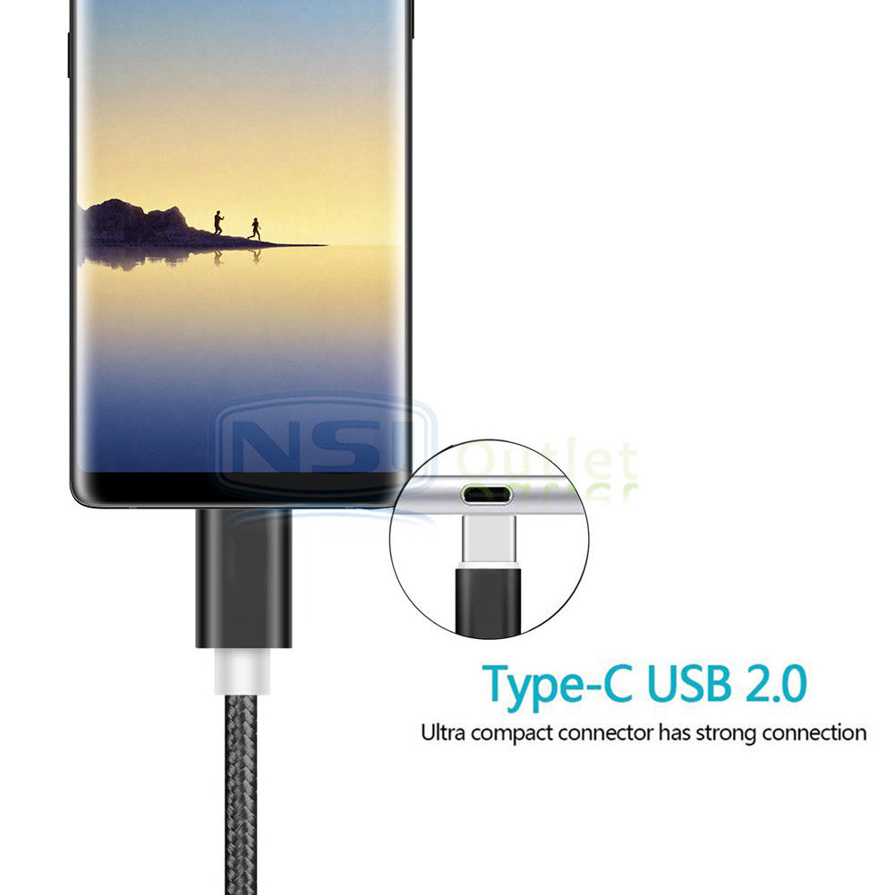 Lot-6FT-USB-Type-C-Data-Sync-Charger-Charging-Cable-for-Samsung-Galaxy-S9-Note-9