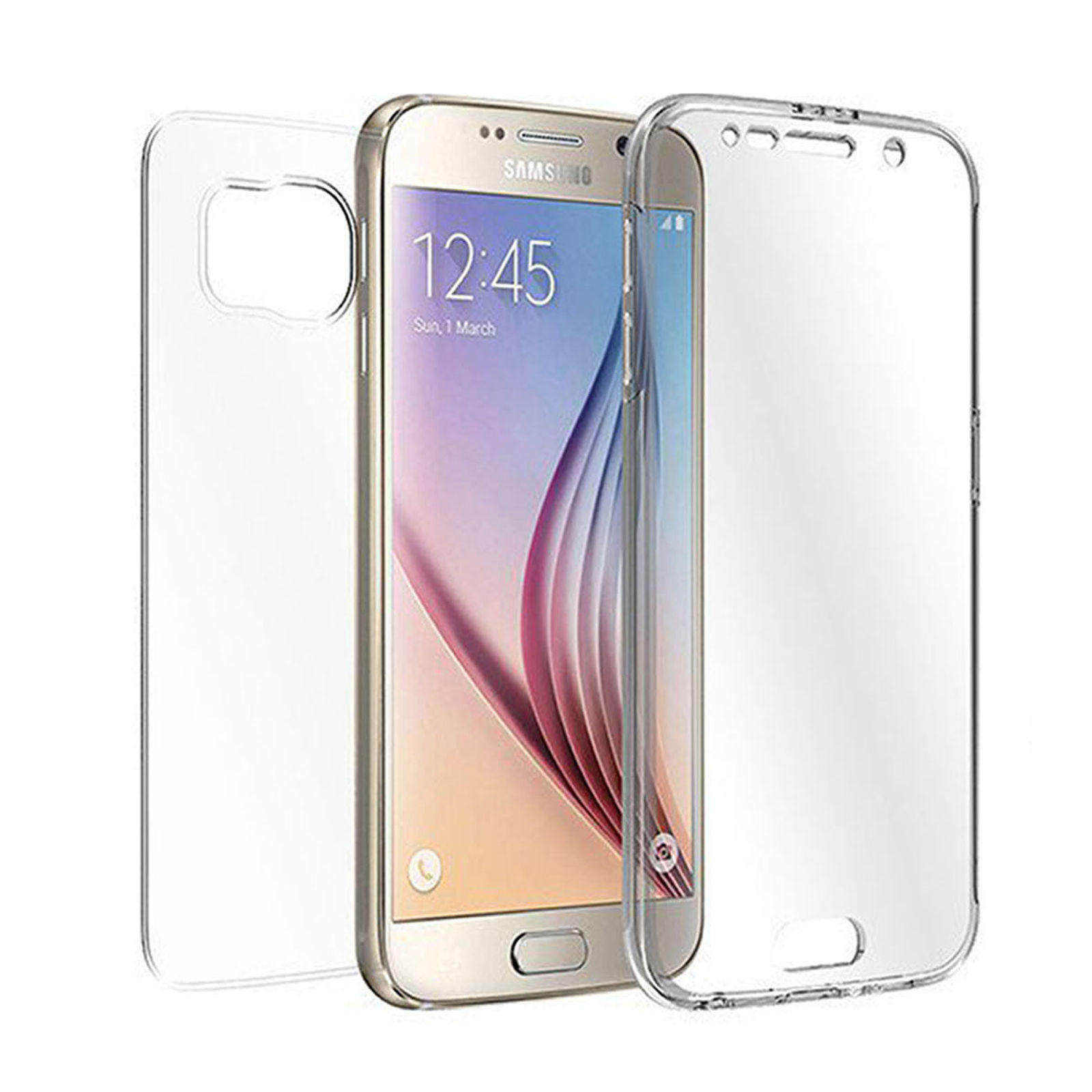 clear tpu full body cover case skin for samsung galaxy. Black Bedroom Furniture Sets. Home Design Ideas