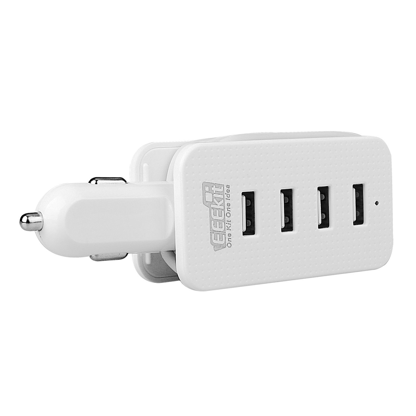4-USB-Port-Smart-Car-Charger-Vehicle-Power-Charging-Adapter-for-Phone-Tablet-GPS thumbnail 9