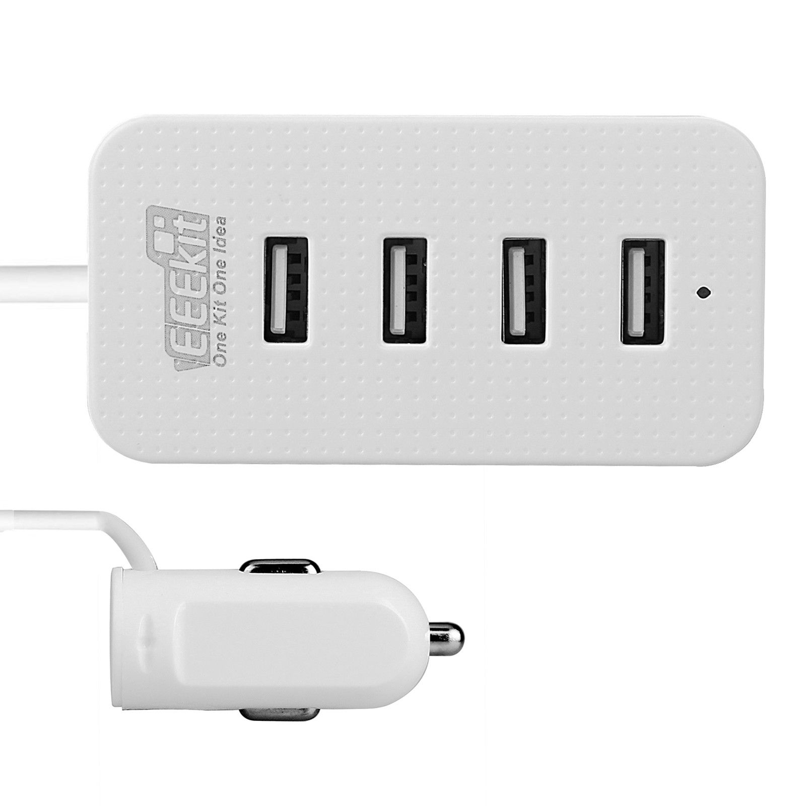 4-USB-Port-Smart-Car-Charger-Vehicle-Power-Charging-Adapter-for-Phone-Tablet-GPS thumbnail 11