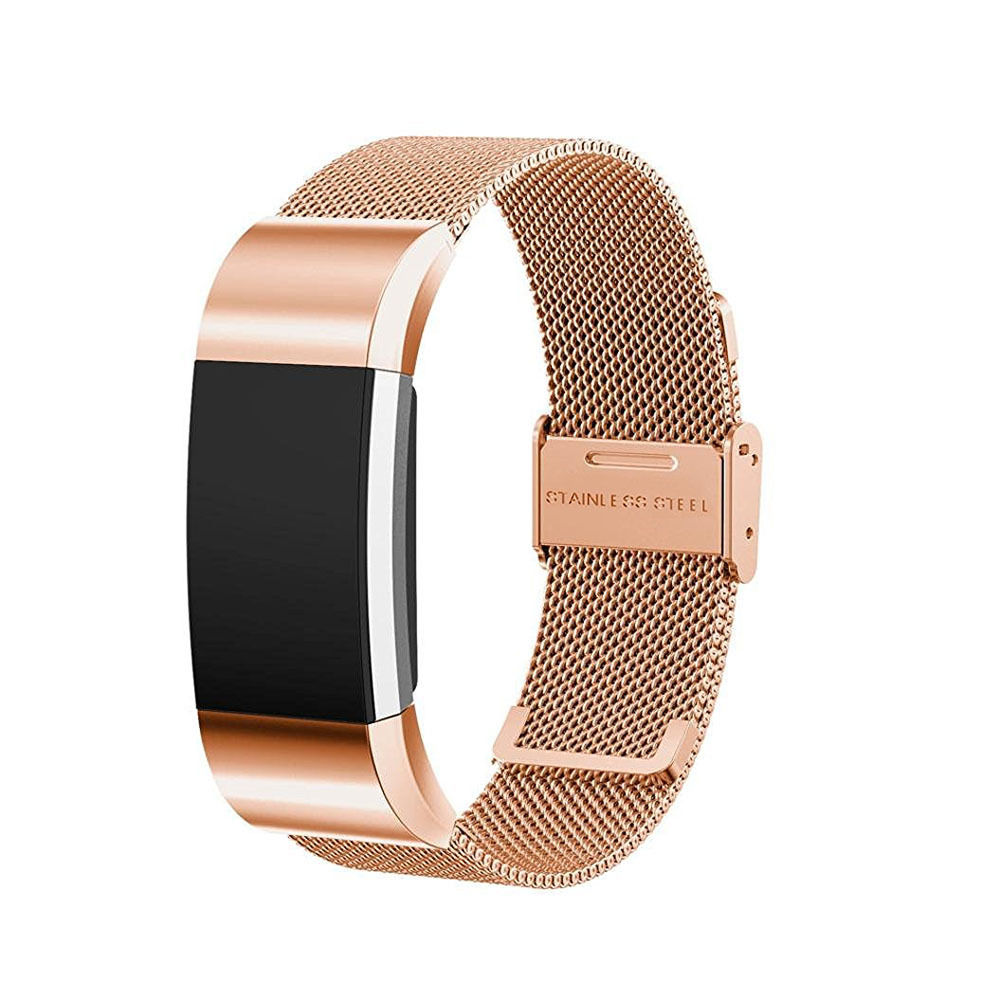 fitbit charge 2 milanese band review