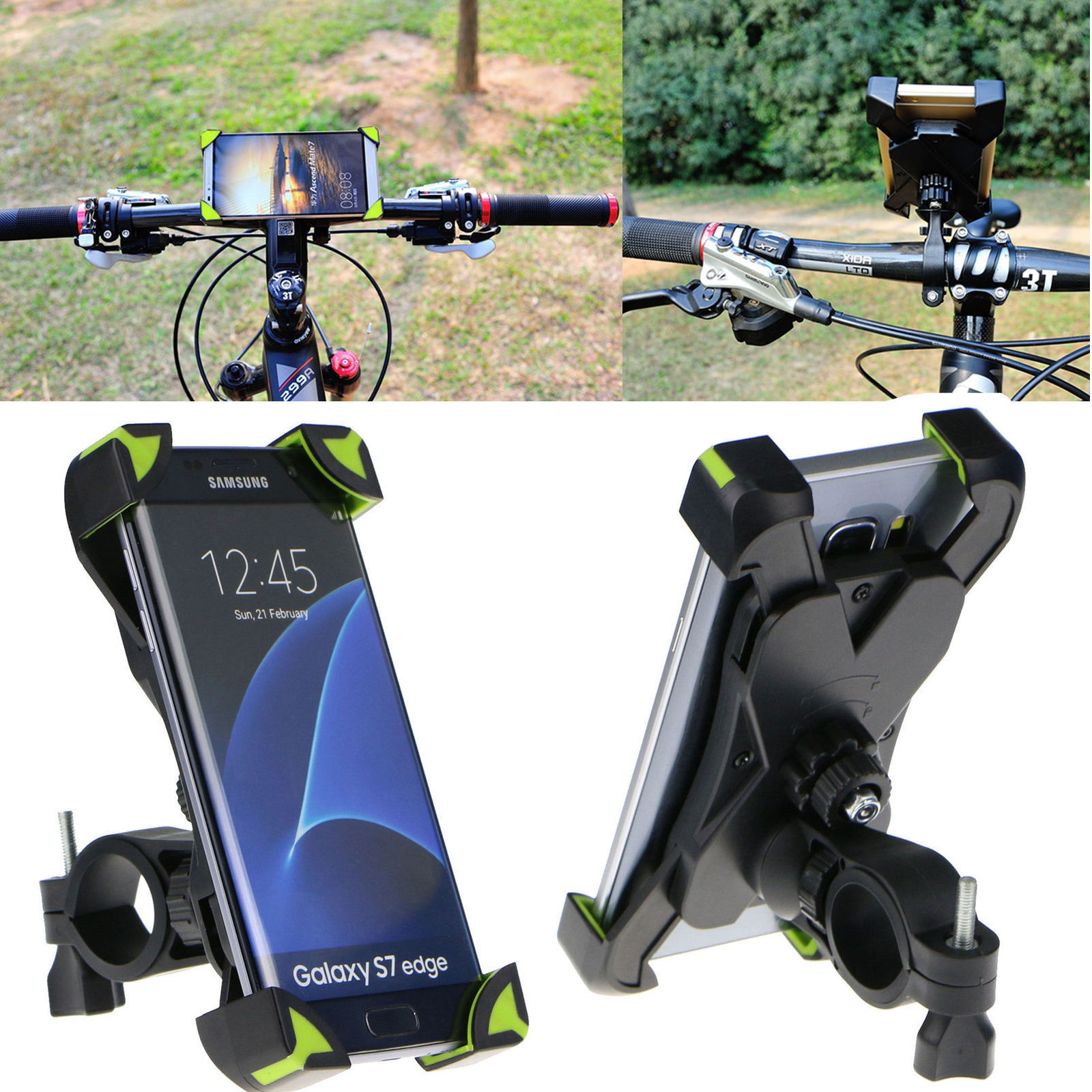 Universal Road Bike Phone Holder Mountain Bicycle Mount For Iphone 8