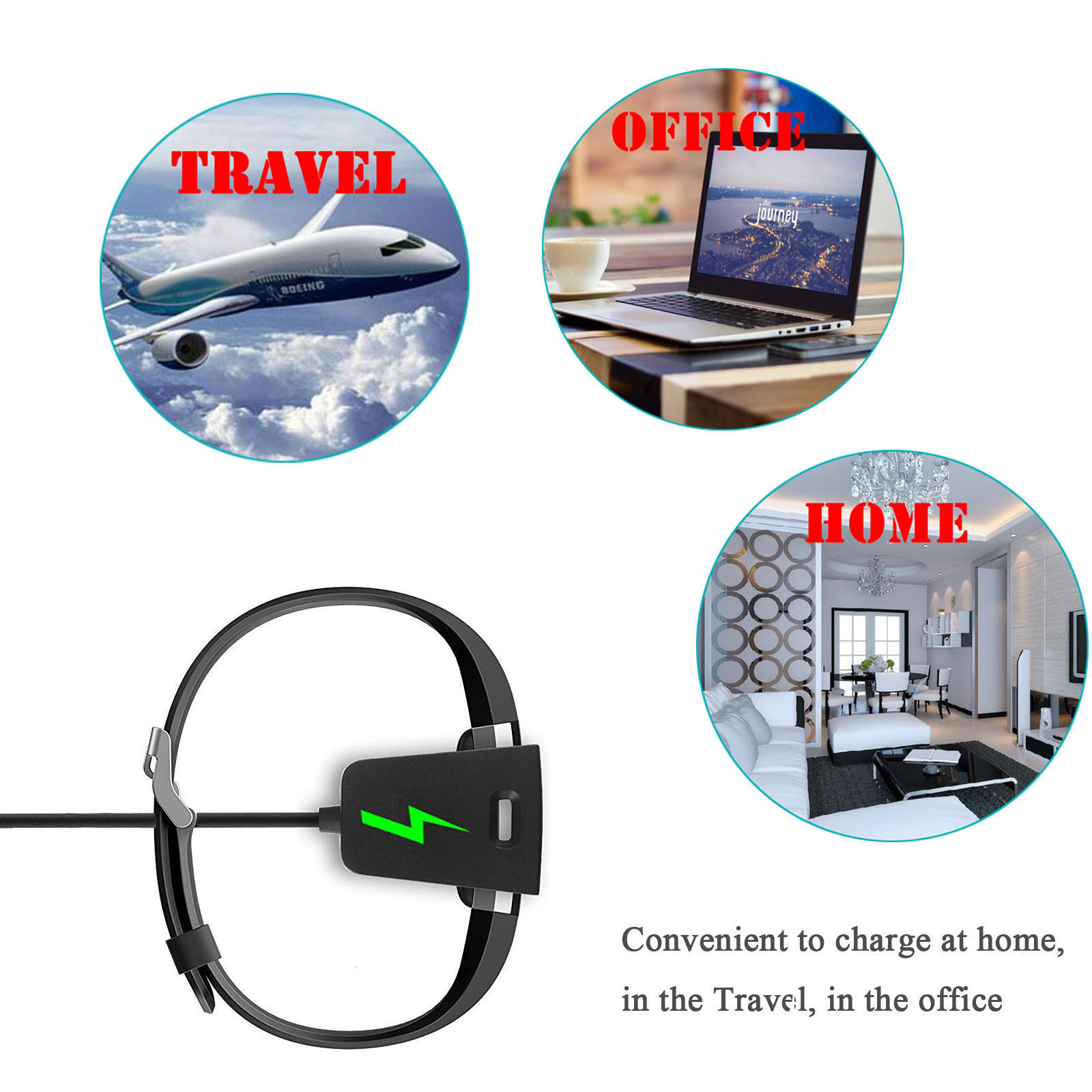 Eeekit 2 Pcs Replacement Charger Charging Cable Cord Dock