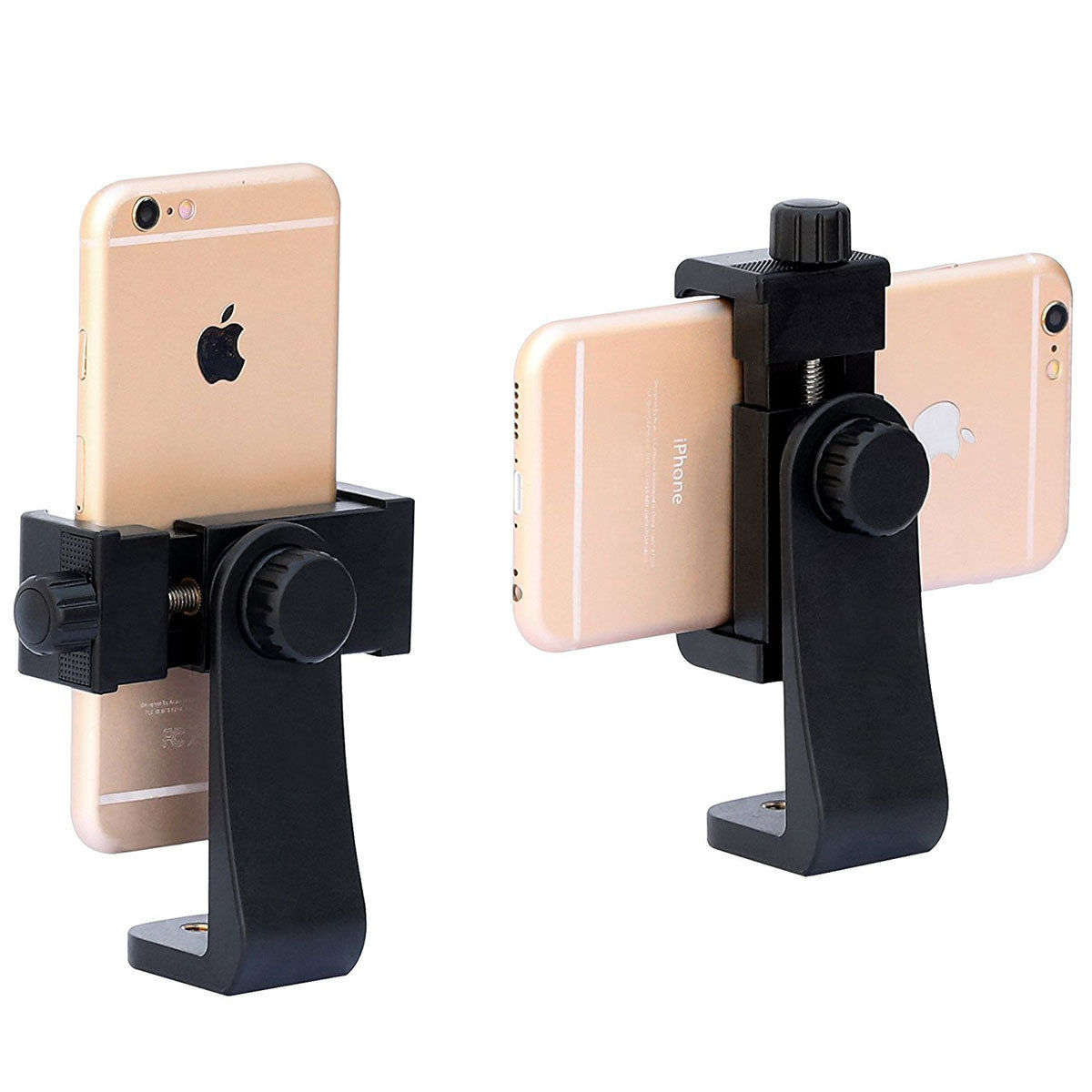 universal cell phone tripod vertical bracket holder mount for iphone