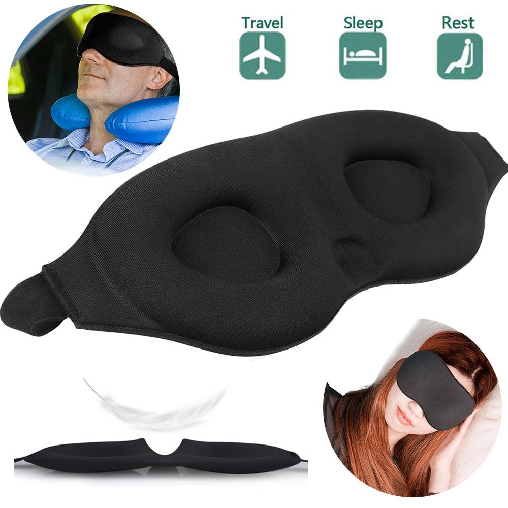 Travel Sleeping Eye Mask 3D Memory Foam Padded Shade Sleep B