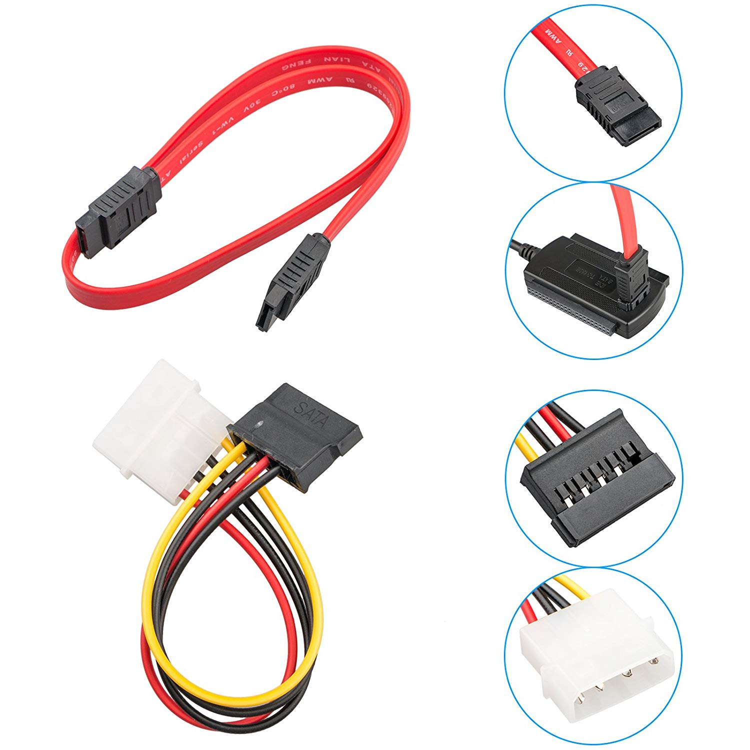 SATA/PATA/IDE to USB 2.0 Adapter Converter Cable for Hard ...