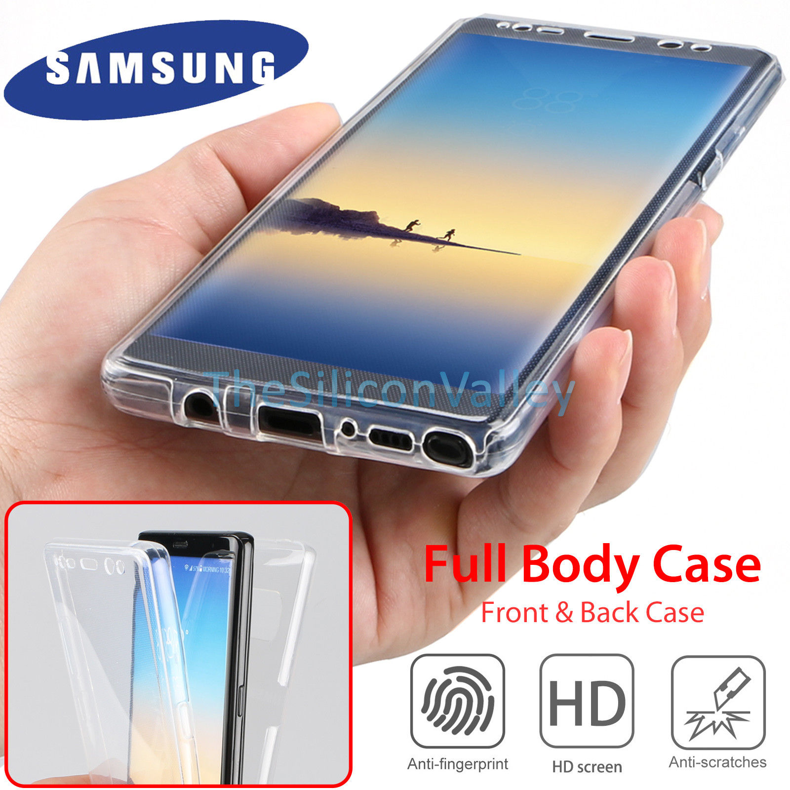 custodia samsung note 8 360