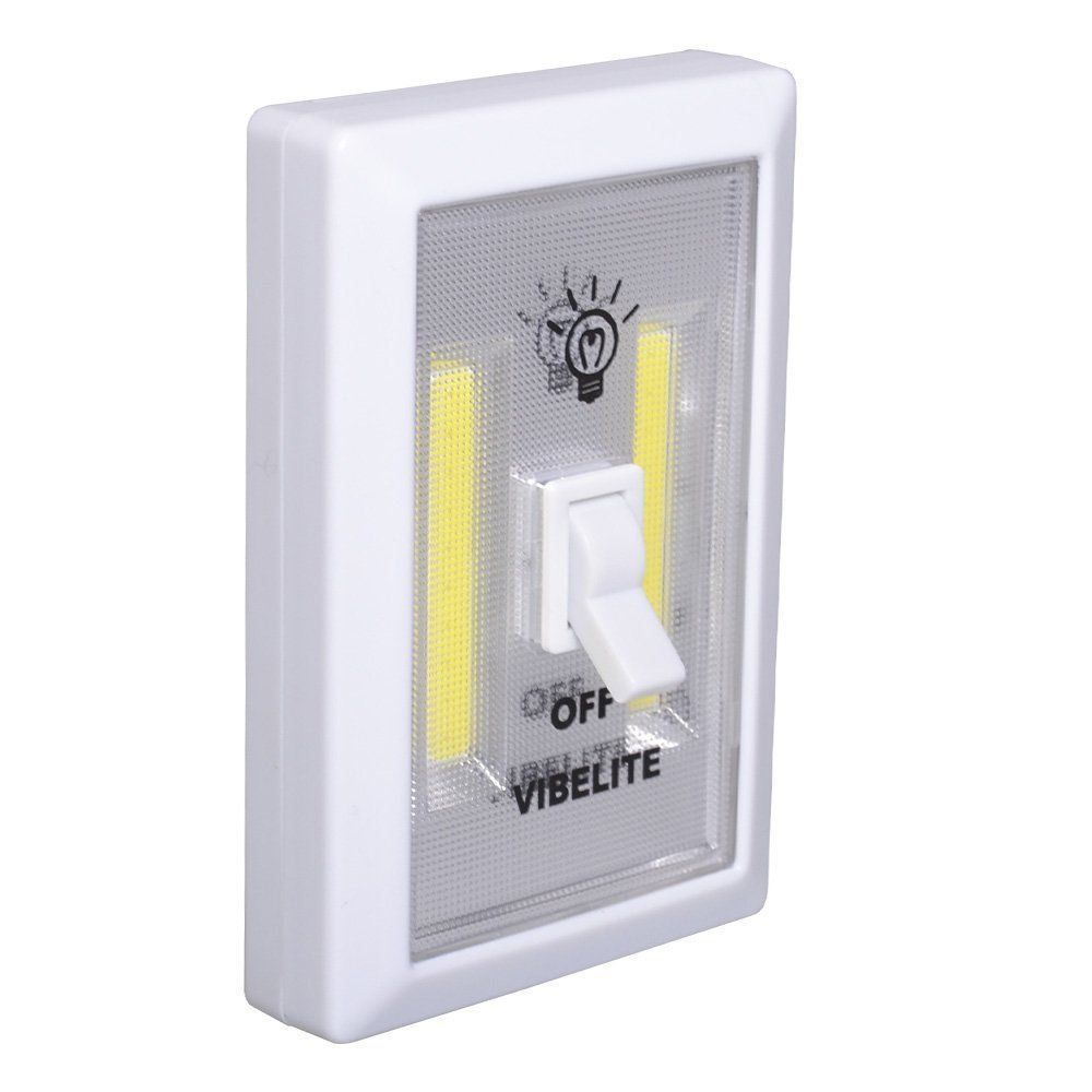 Led Wall Lights With Switch: 2x 1x COB LED Wall Switch Wireless Battery Operated Closet