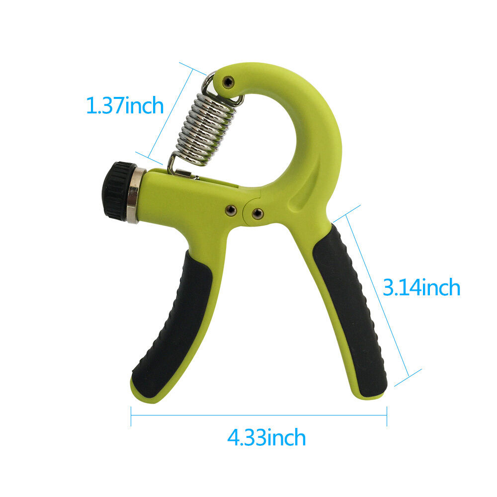 Adjustable-Hand-Grip-Power-Exerciser-10-40-KGS-Wrist-Training-Strength-Gripper thumbnail 23