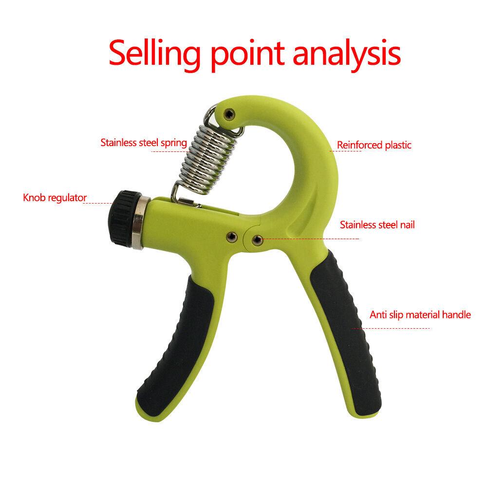 Adjustable-Hand-Grip-Power-Exerciser-10-40-KGS-Wrist-Training-Strength-Gripper thumbnail 26