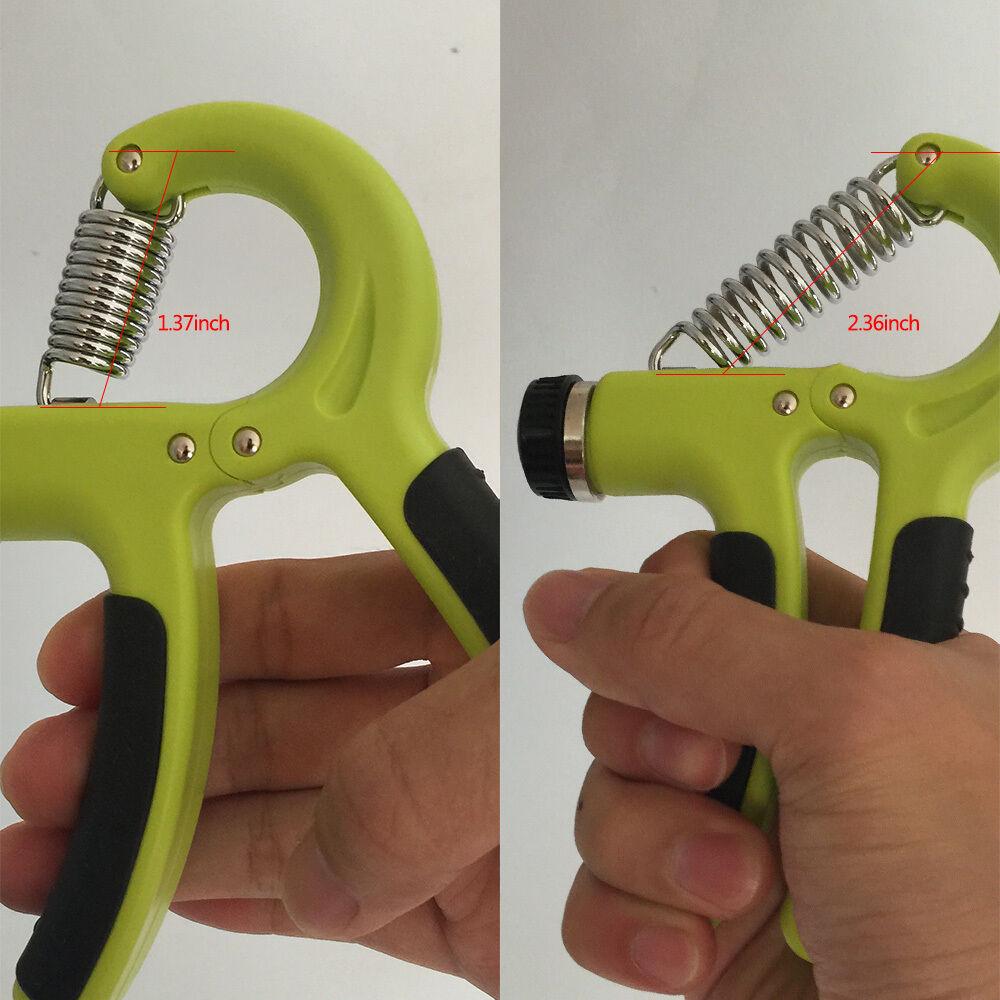 Adjustable-Hand-Grip-Power-Exerciser-10-40-KGS-Wrist-Training-Strength-Gripper thumbnail 24