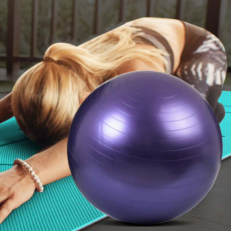 55-65-75cm-New-Exercise-Yoga-Ball-Fitness-Balance-Over-Stability-Ball-Bender-Gym thumbnail 16