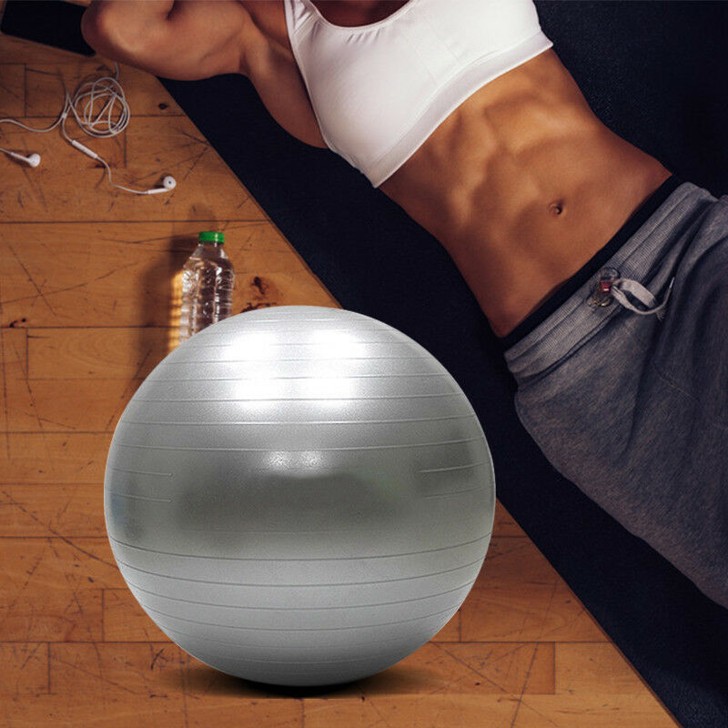 55-65-75cm-New-Exercise-Yoga-Ball-Fitness-Balance-Over-Stability-Ball-Bender-Gym thumbnail 21